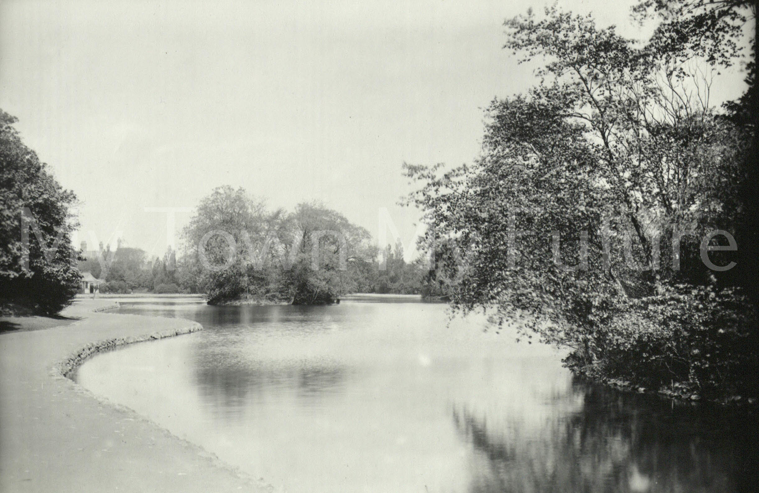 Albert Park, View of the Lake