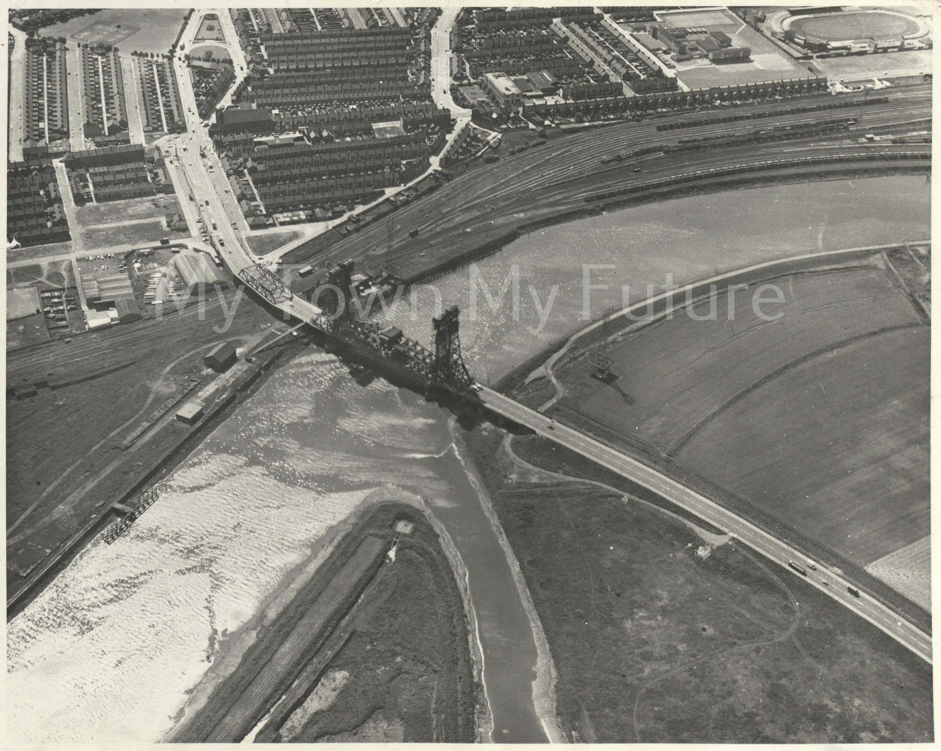 Newport Bridge, 1968 - Colin Simister