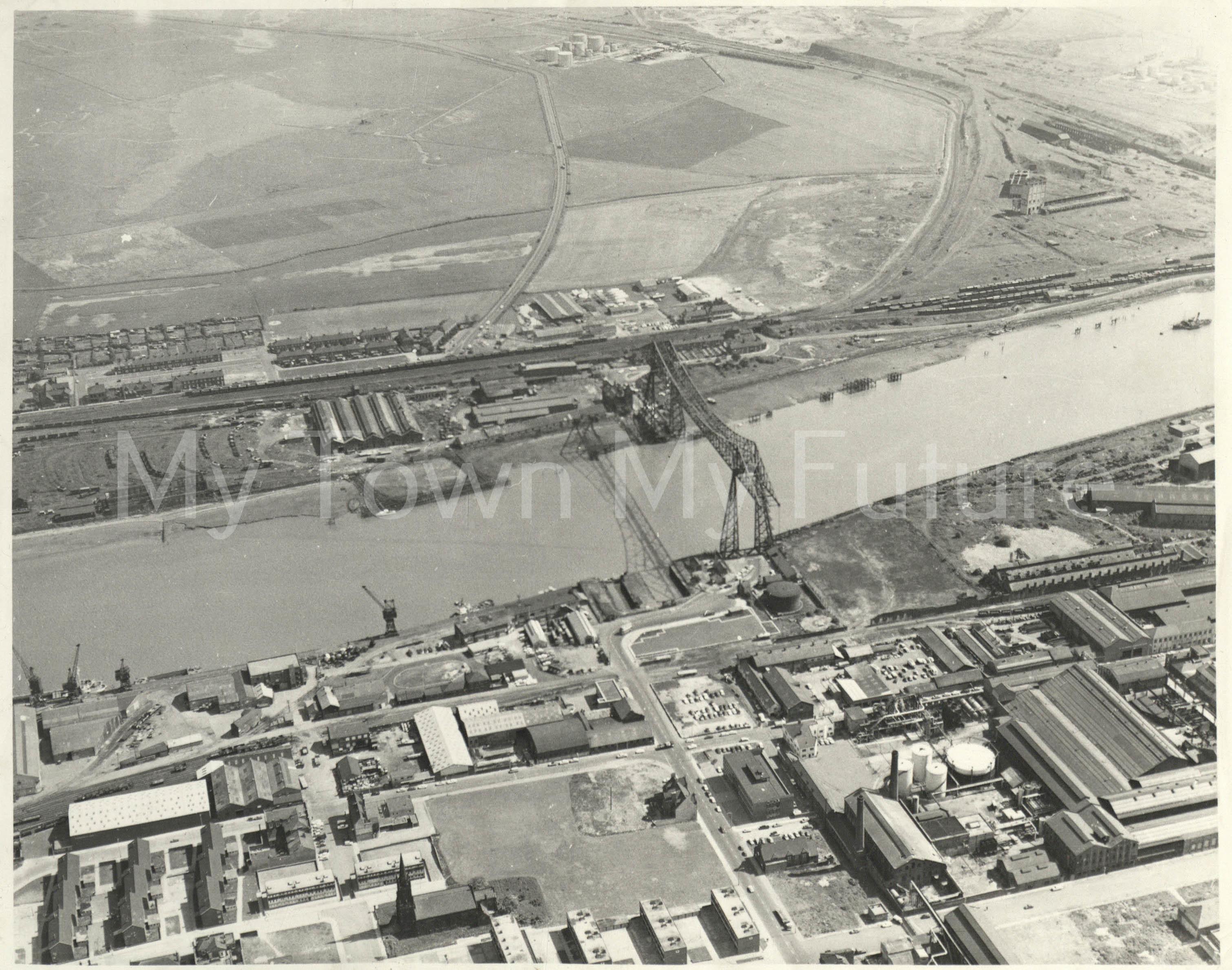 Transporter Bridge, 1968 - Colin Simister