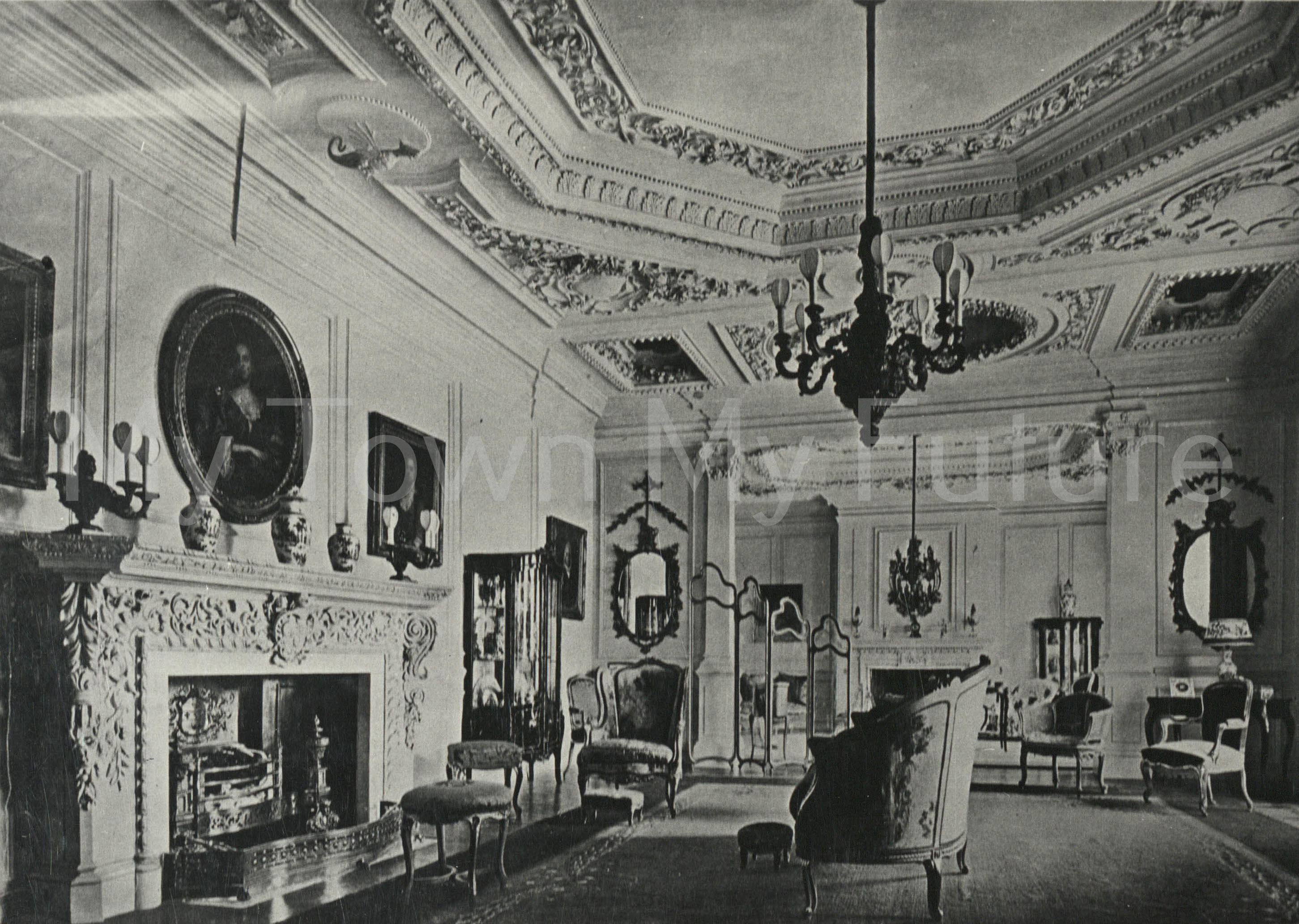 Acklam Hall The large Drawing-room