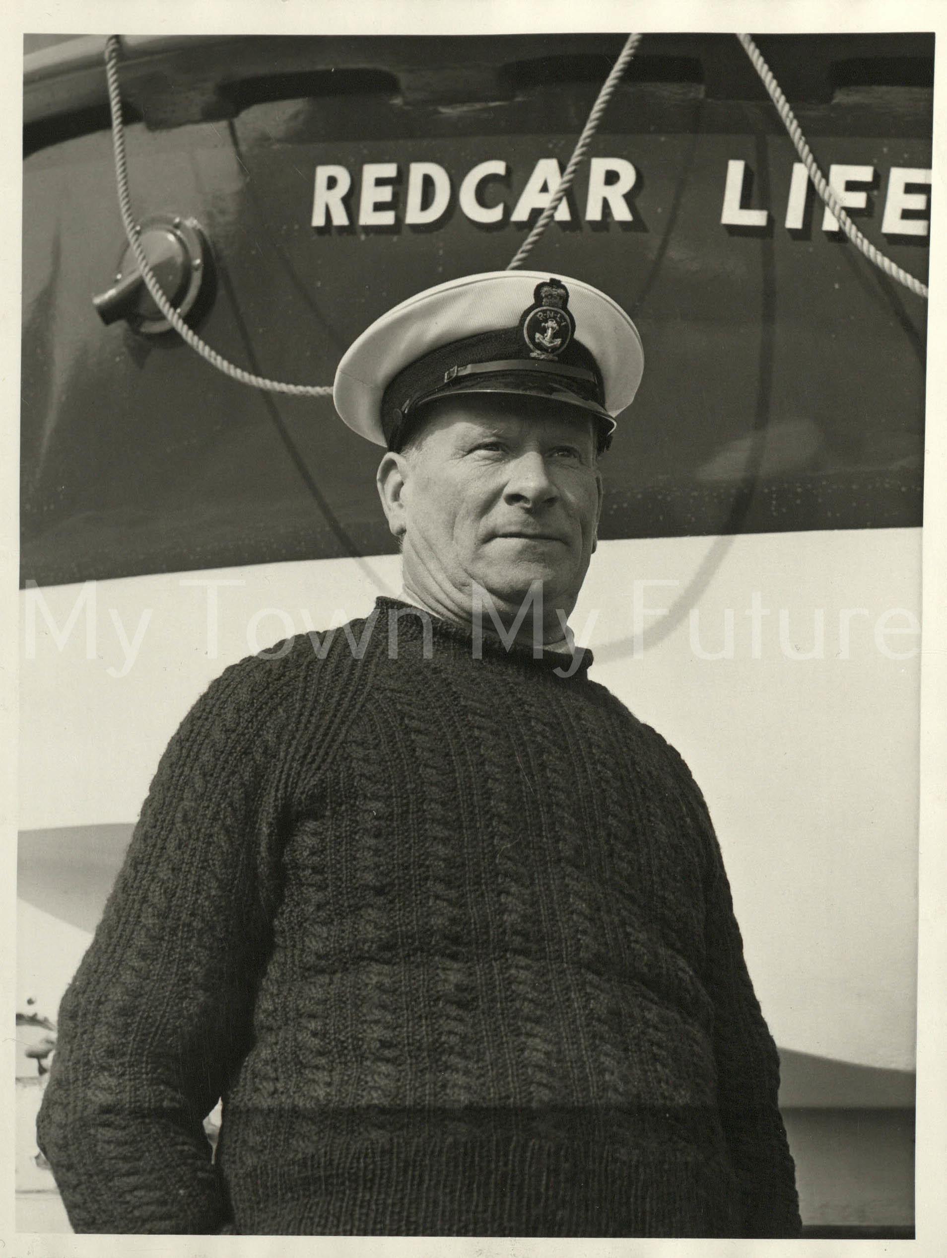 Mr Ron Dixon, Coxswain, Redcar Lifeboats