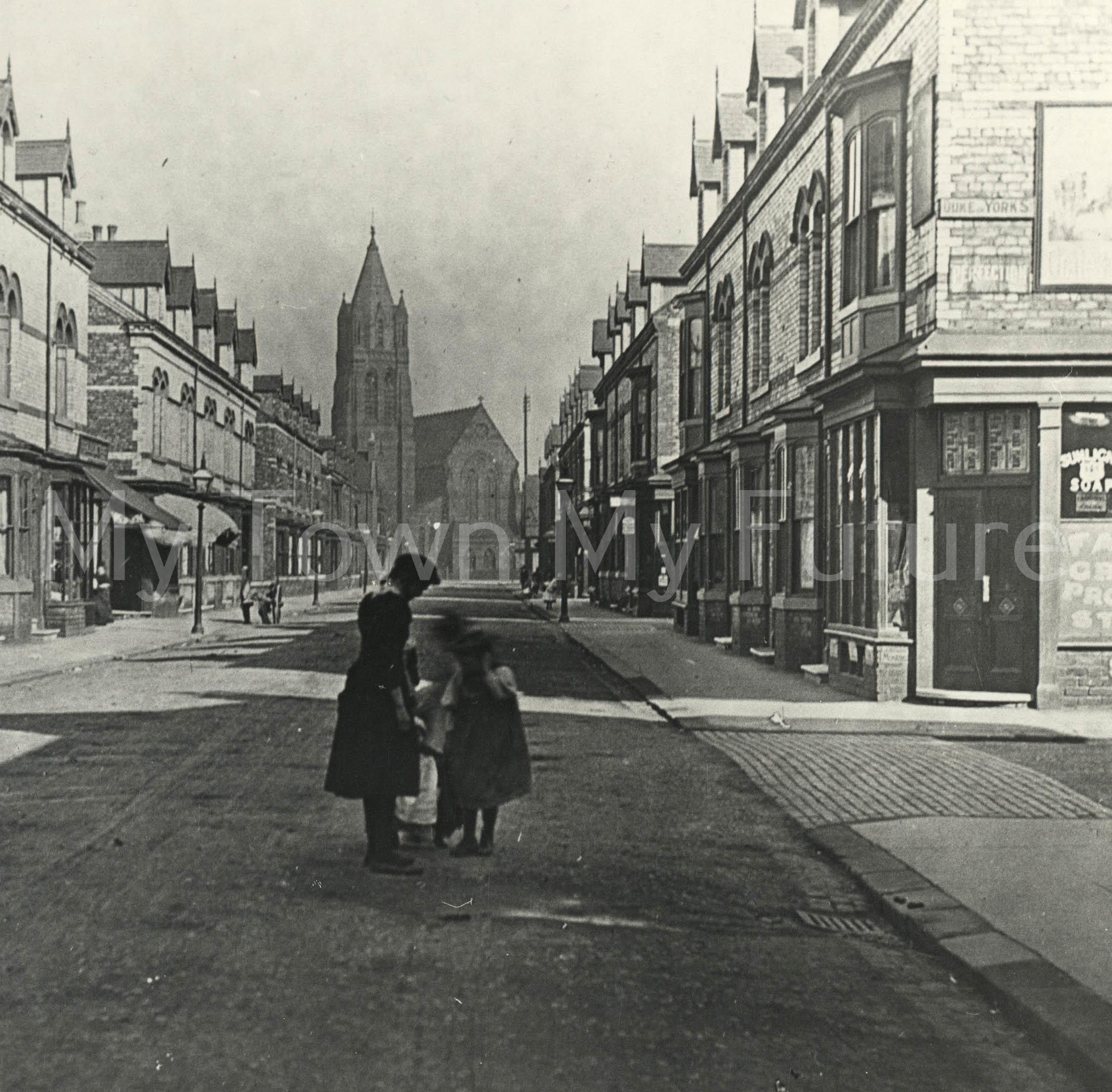 St John's Church. Marton Road, seen along Russell Street.