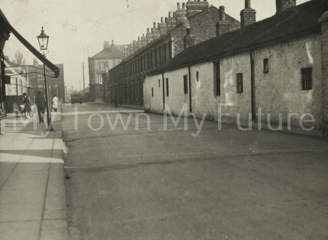 White Cottages, St Barnabas Road, Linthorpe, Middlesbrough (1930)