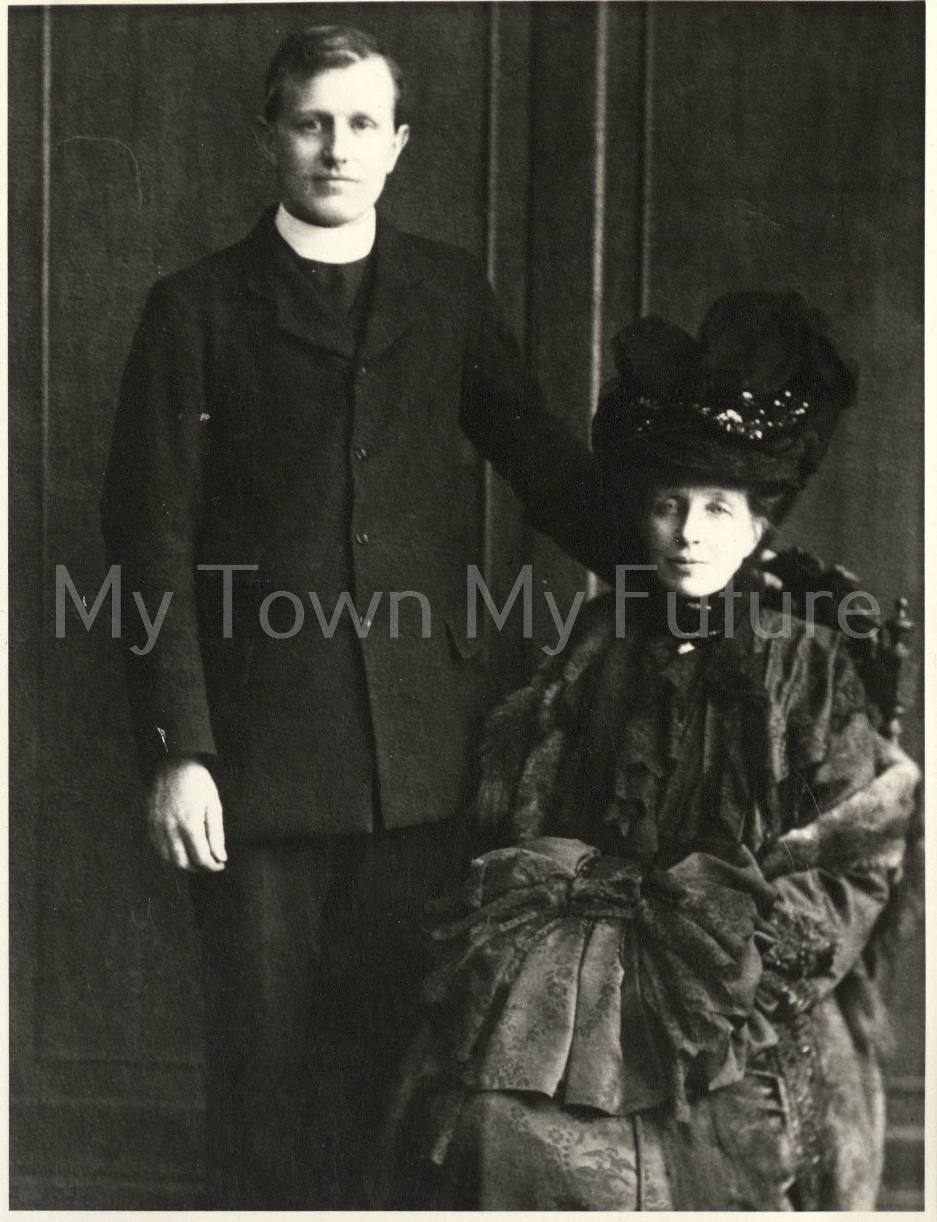 Lady Florence Bell and son Hugo