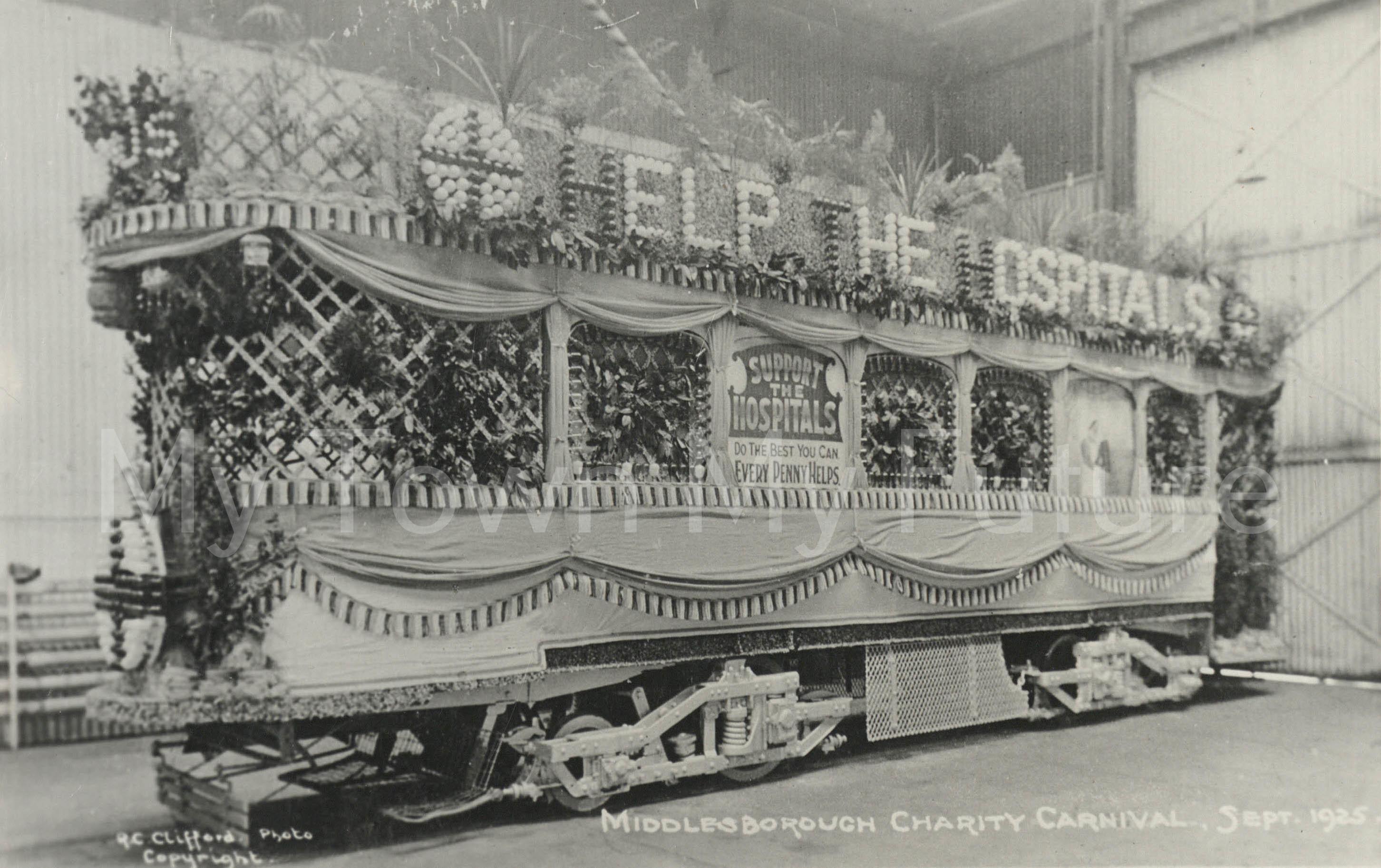 Trams, 1925, R.C.Clifford