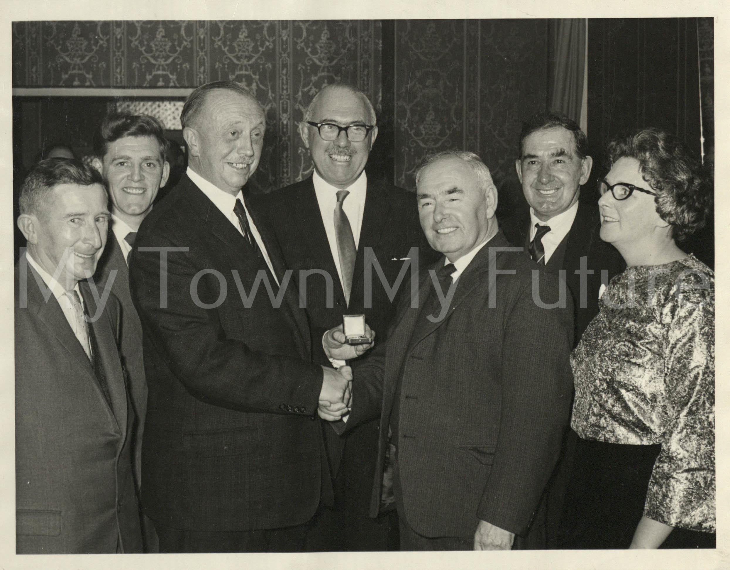 Mr Pat Maynard 50th Pint Of Blood November 25 1966