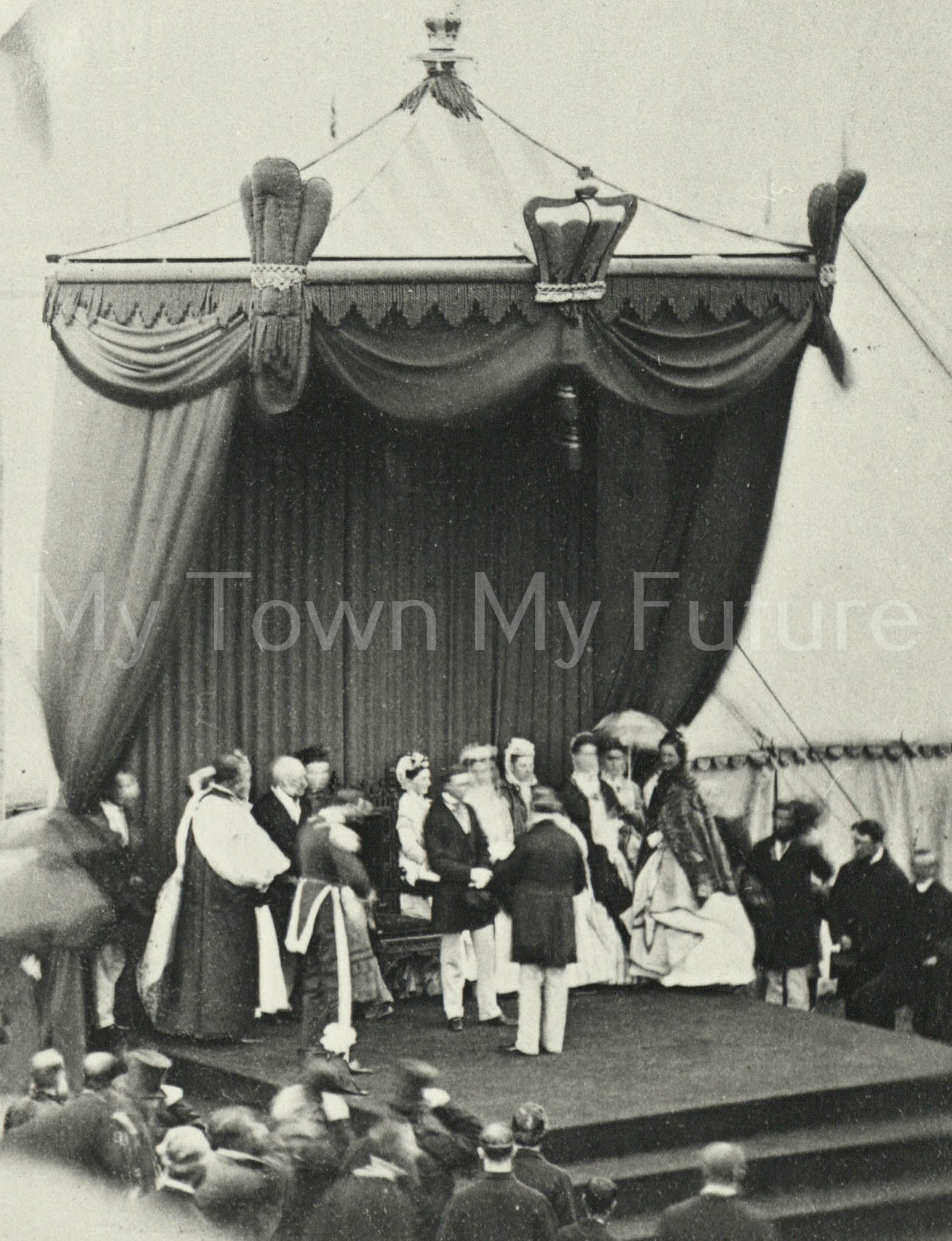 Albert Park- Opening of the Park by Prince Arthur of Connaught, 1868 - Dept. of Planning - Cleveland County Council