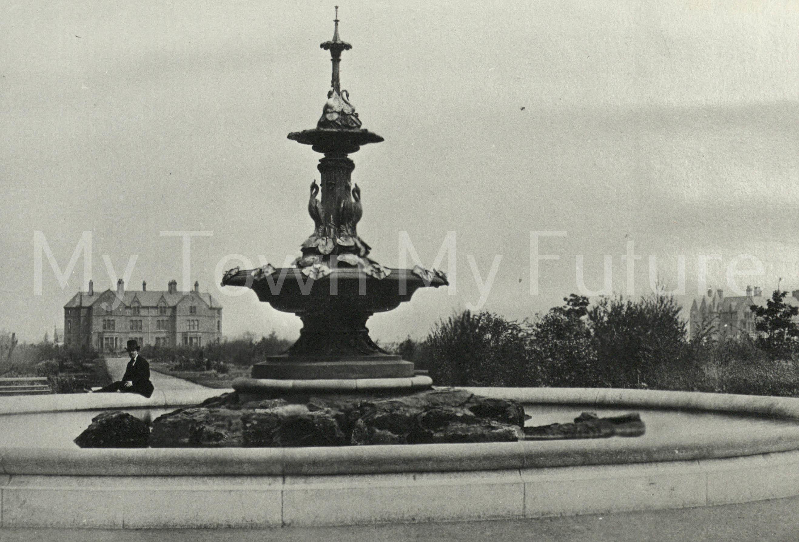 Albert Park - Fountain which was presented by Joseph Pease Esq. 1868
