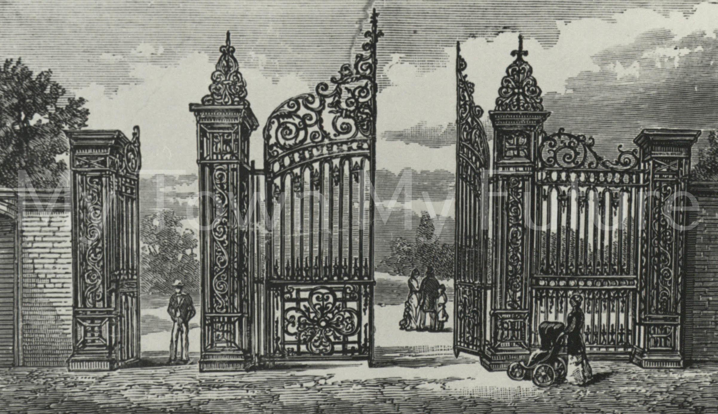 Albert Park Gates