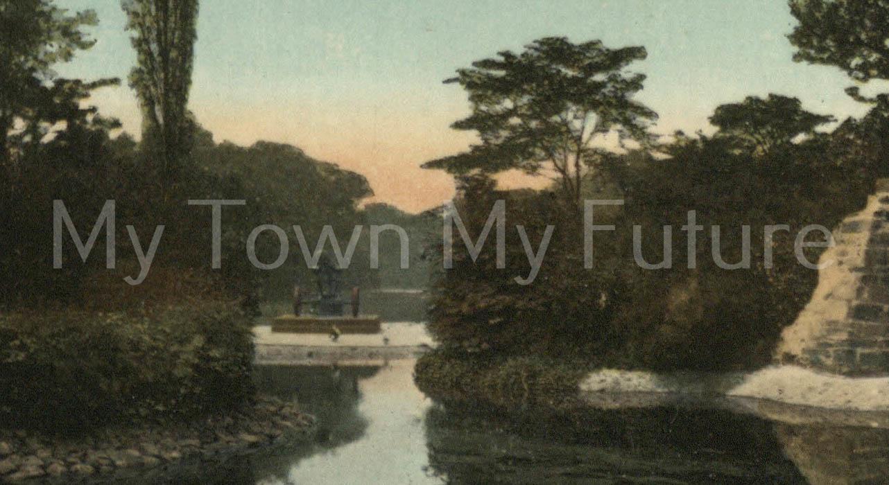 Albert Park - Postcard - to Frank Coltman