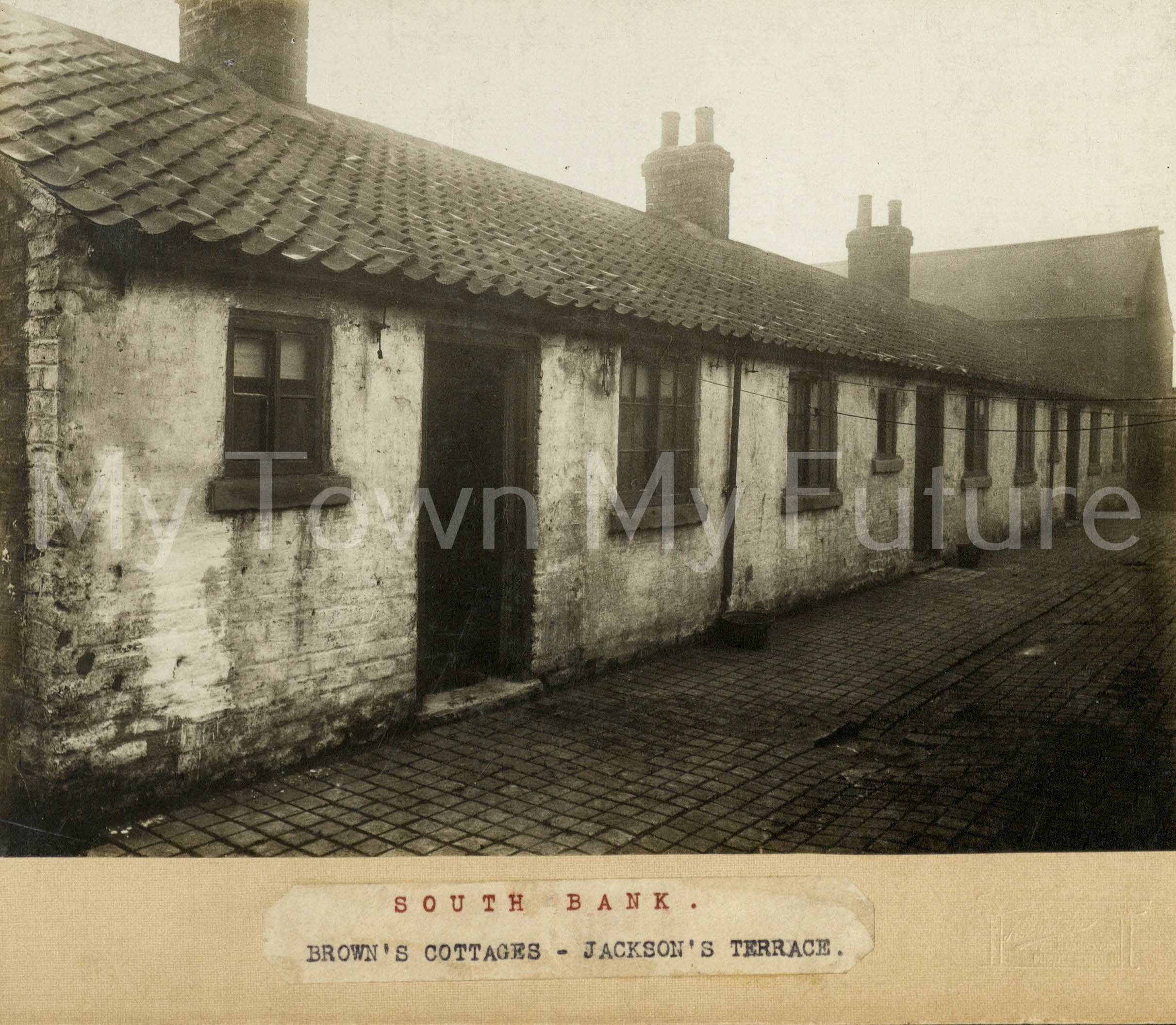 Brown's Cottages Jackson's Terrace South Bank (undated)
