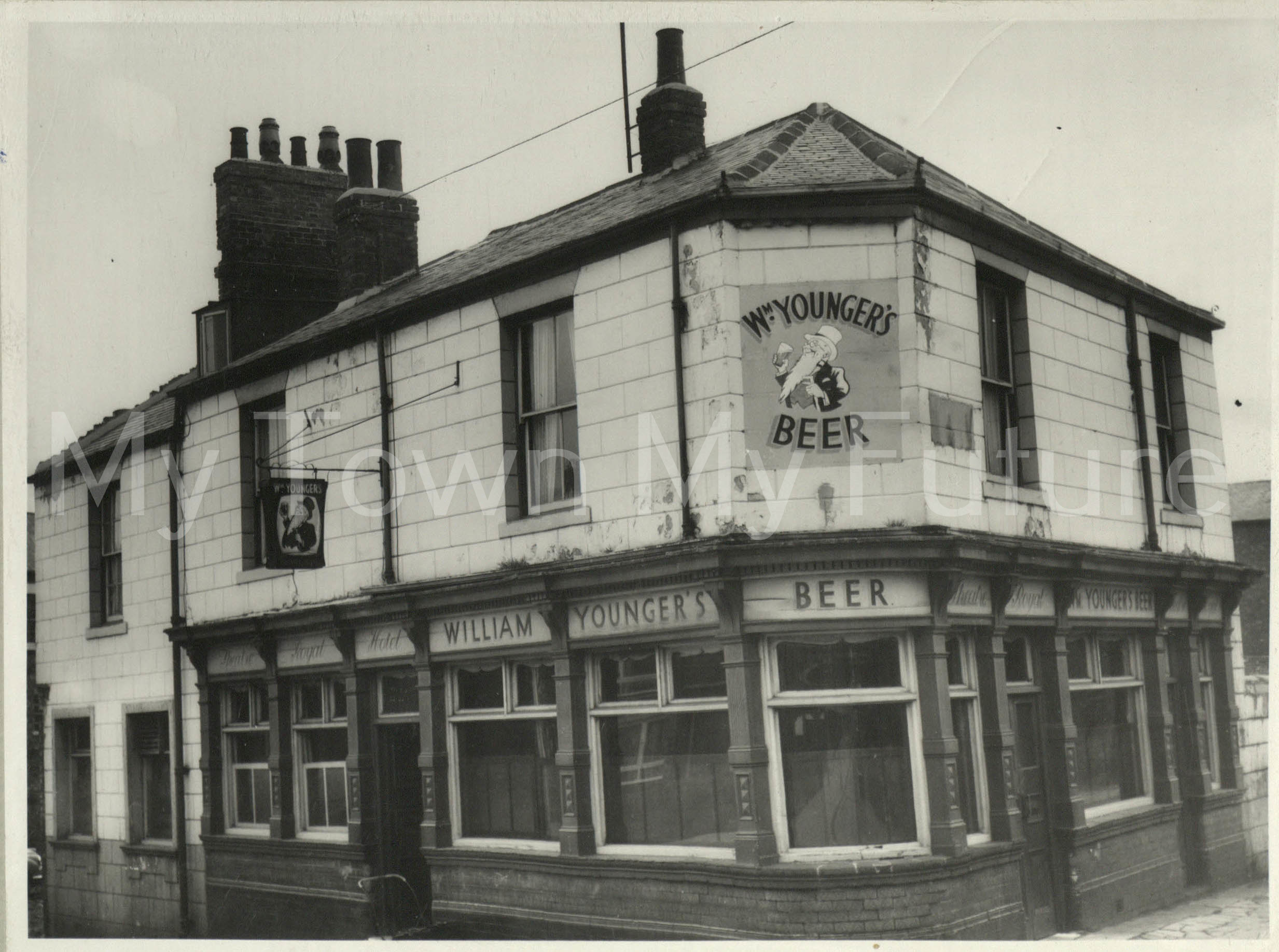 The Theatre Royal, 1866, Gosford Street, St Hilda's - Published 9th October 1963, Evening Gazette