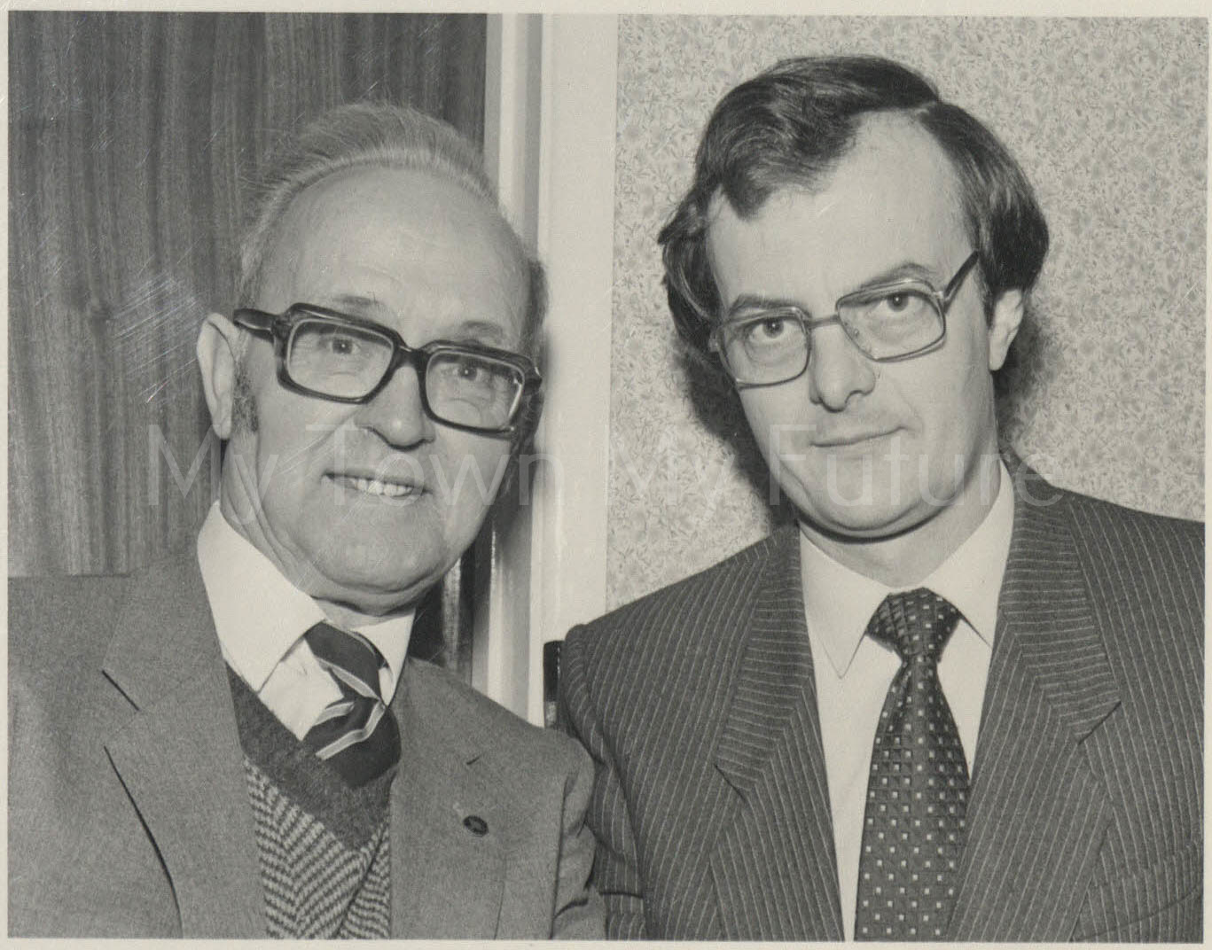 Jim Jarvis and Robin Ashby, Councillors Nunthorpe 1986