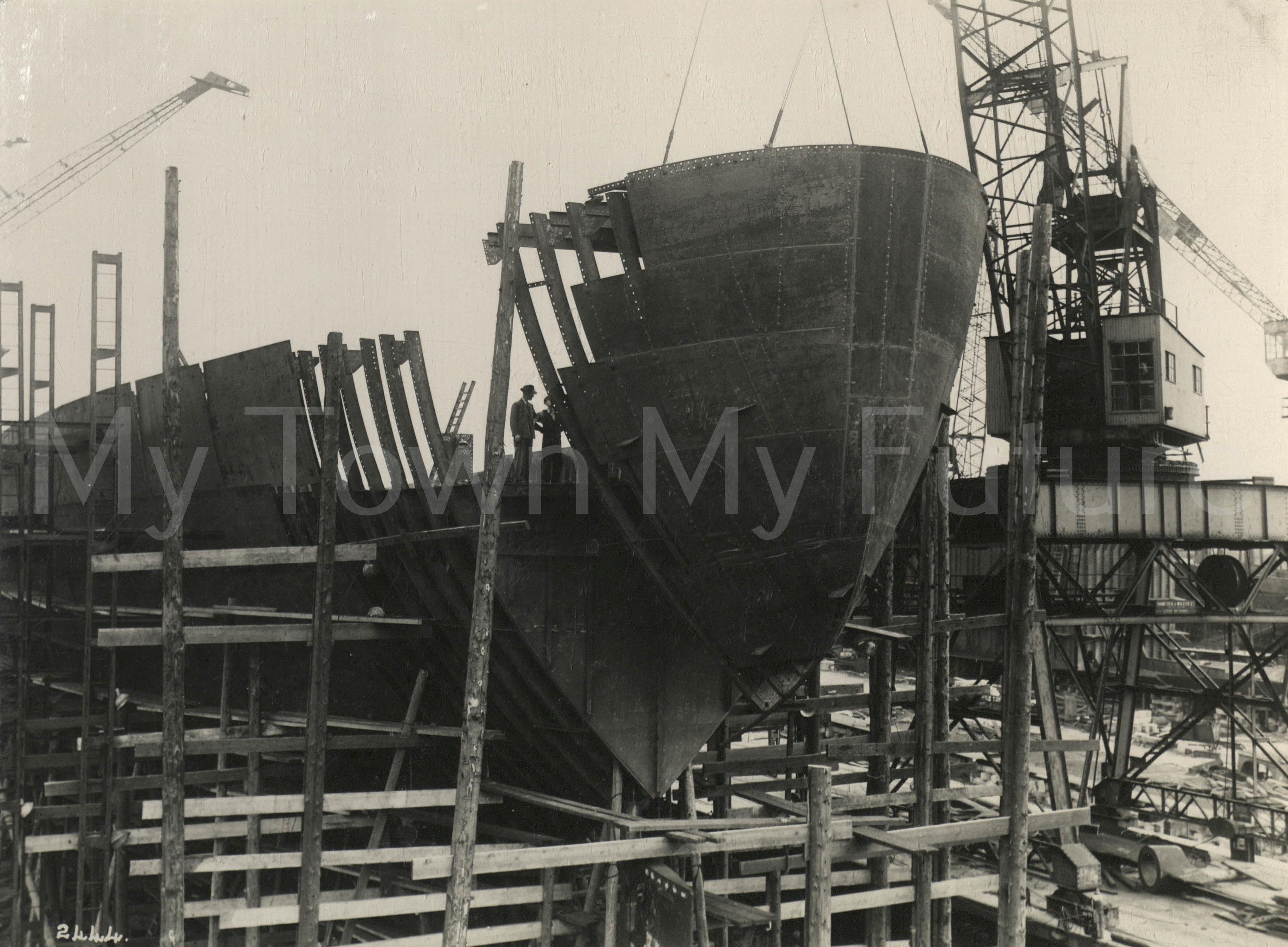 Smith's Dock Ships - WWII Reconstruction Job