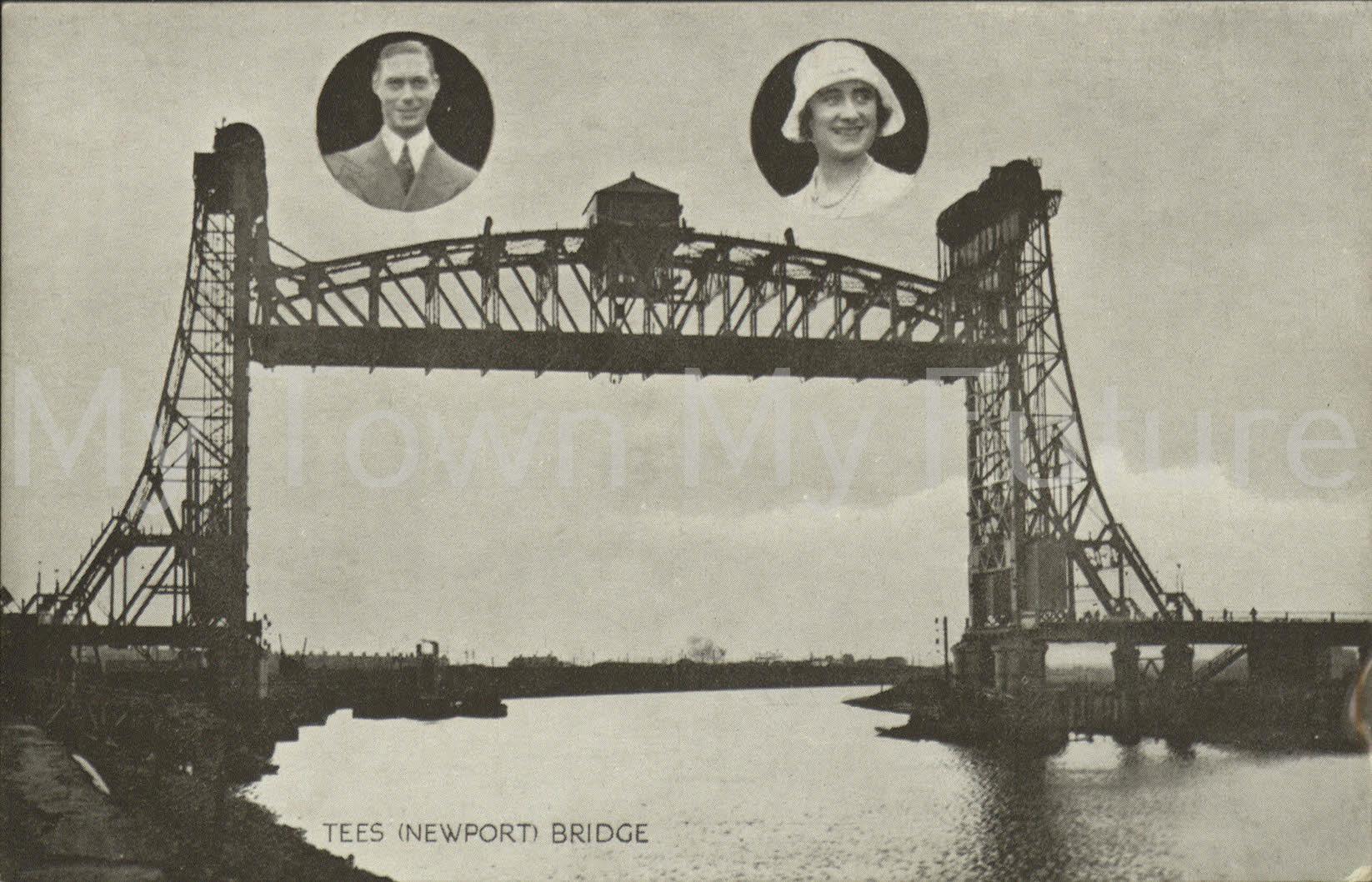 Newport Bridge - Royal Couple Prince George and Mary, Sanbridge - Middlesbrough
