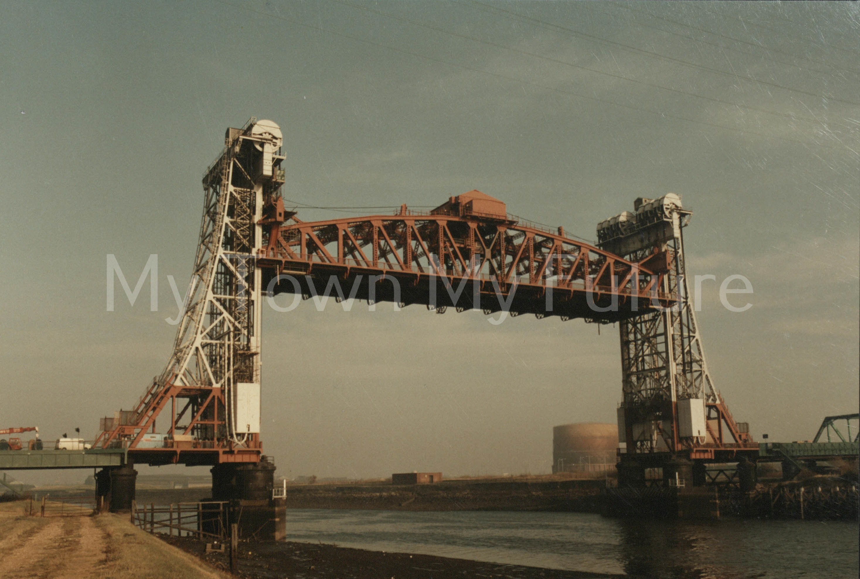 Newport Bridge, 6th November 1983 - Department of Ec. Development & Planning - Cleveland County Council