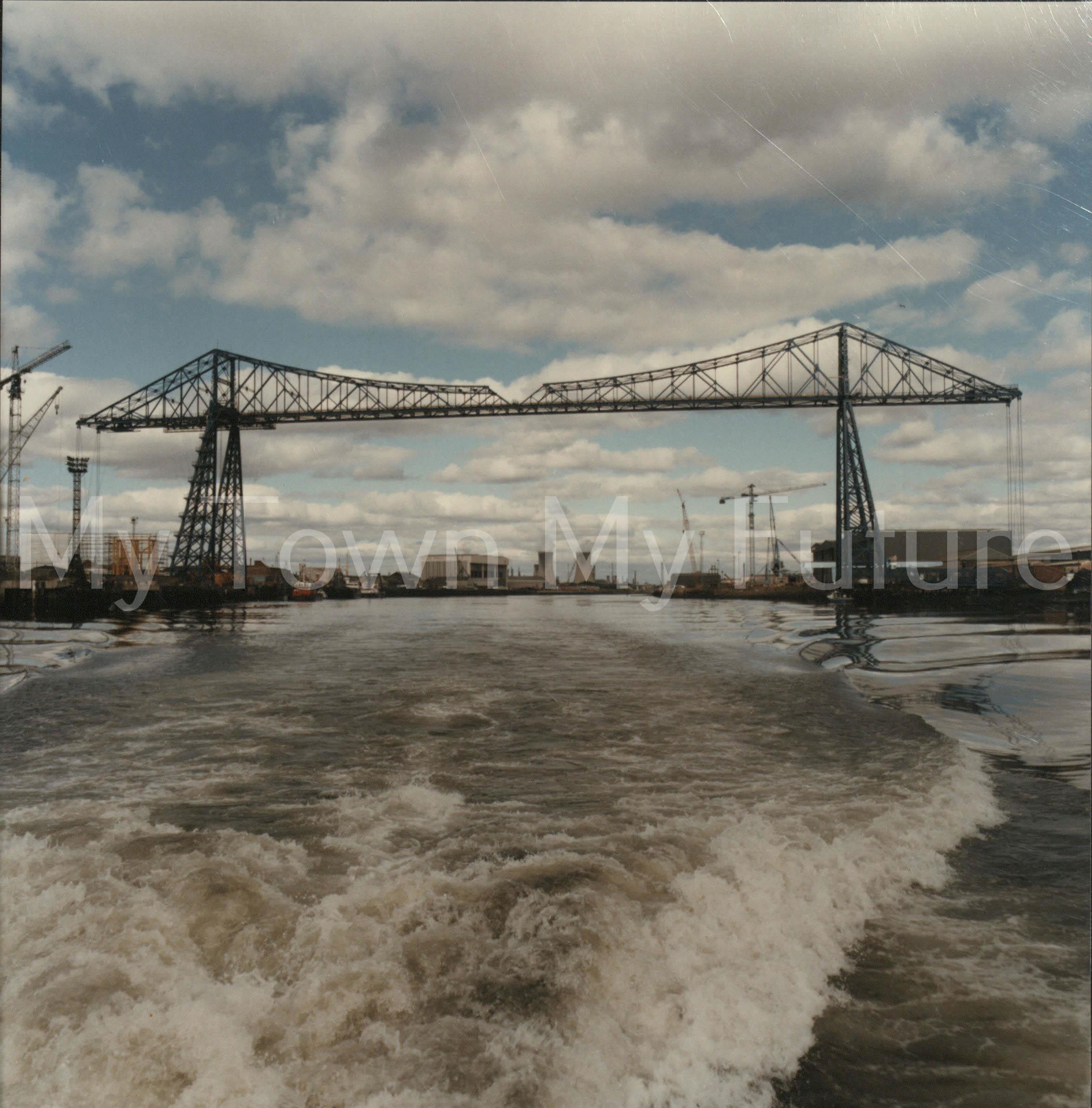 Transporter Bridge, 16th August 1988, Department of Ec. Development & Planning - Cleveland County Council