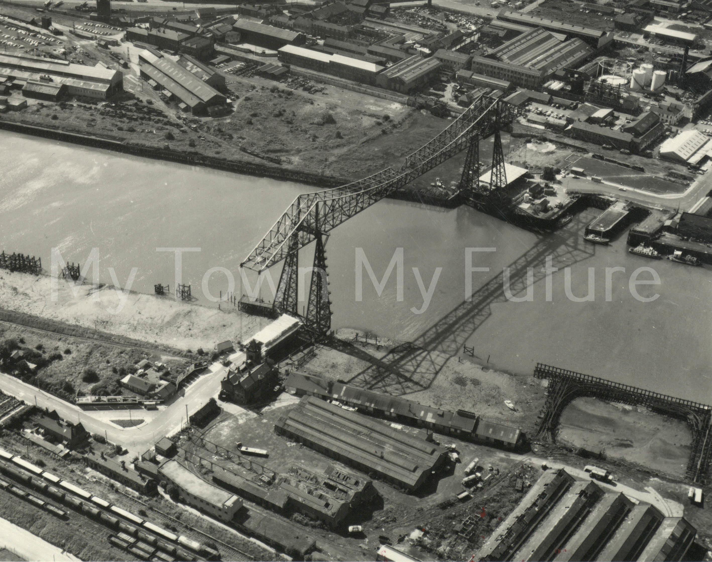 Transporter Bridge - Aerial Photo - Aerofilms