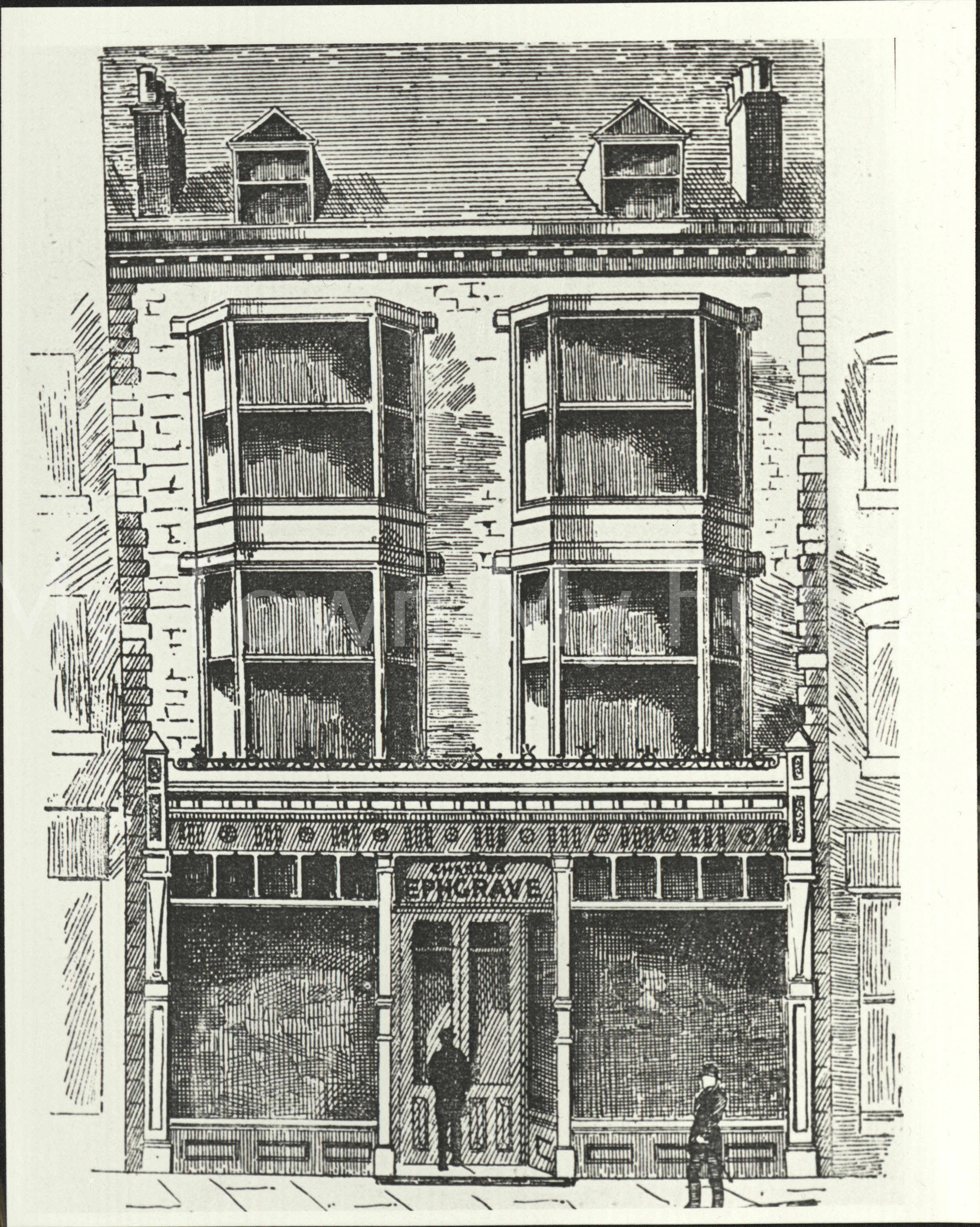 Charles Ephgrave Linthorpe Road, 1889