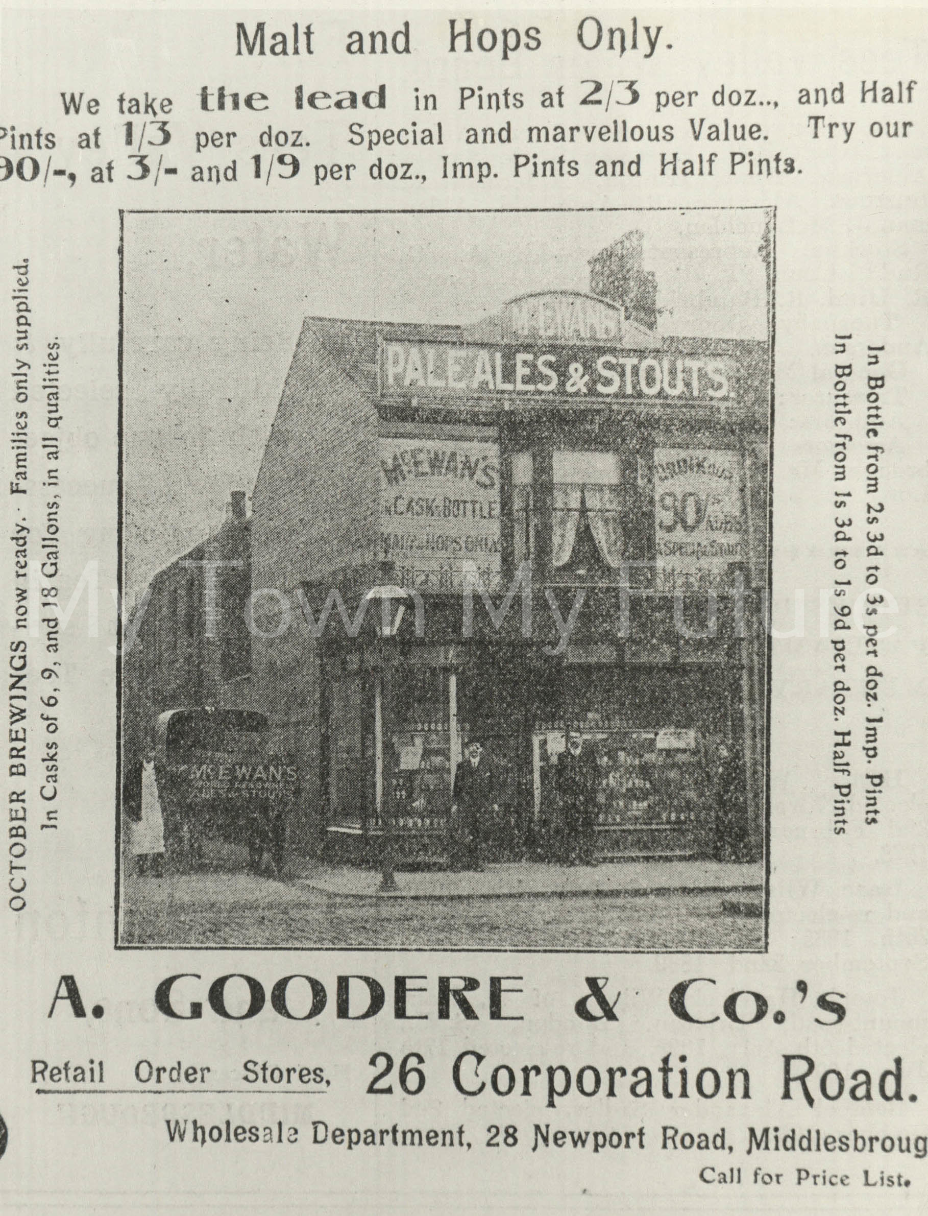 A Goodere & Co., 1904, Department of Planning - Cleveland County Council