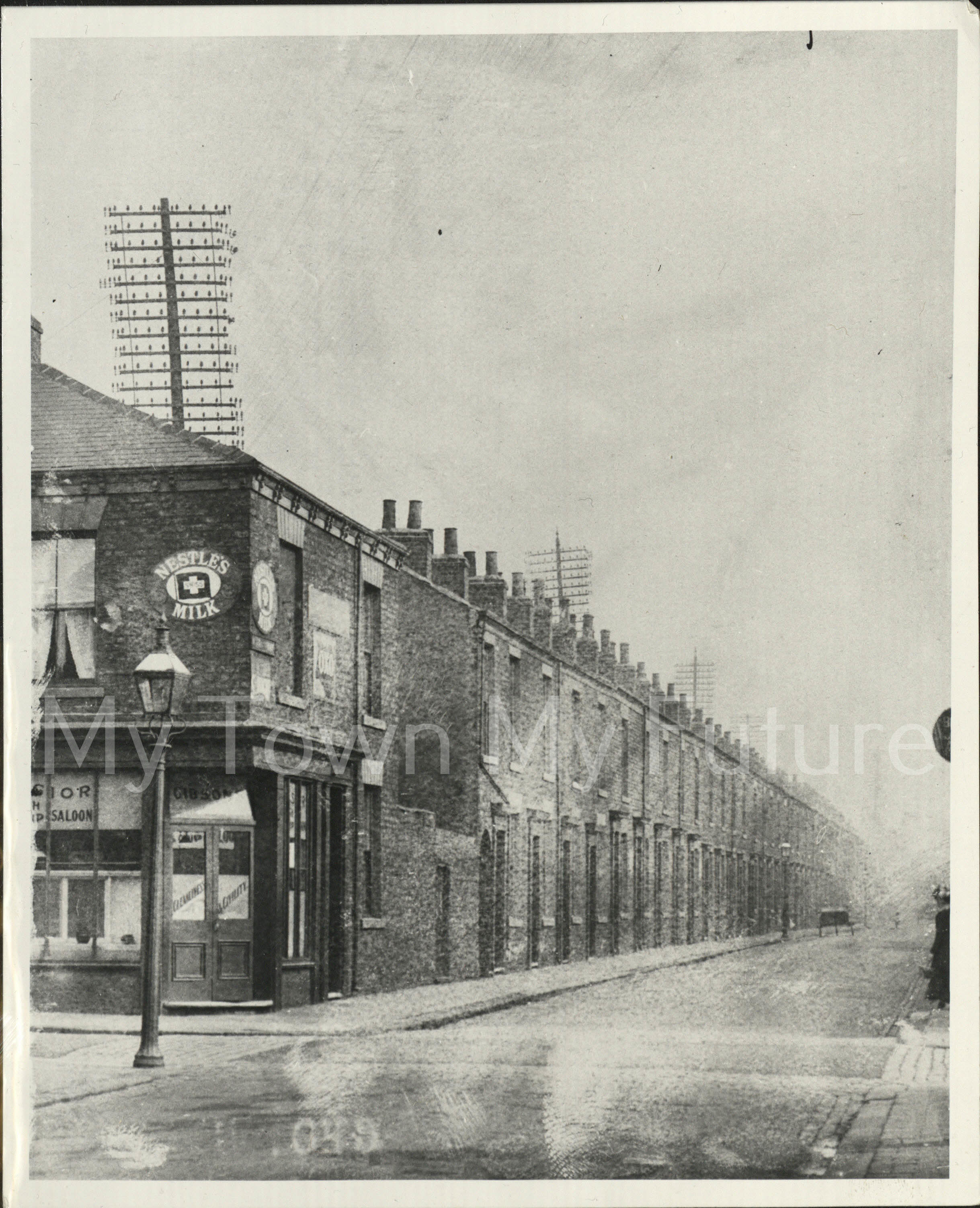Telephone Poles Cargo Fleet lane September 1910