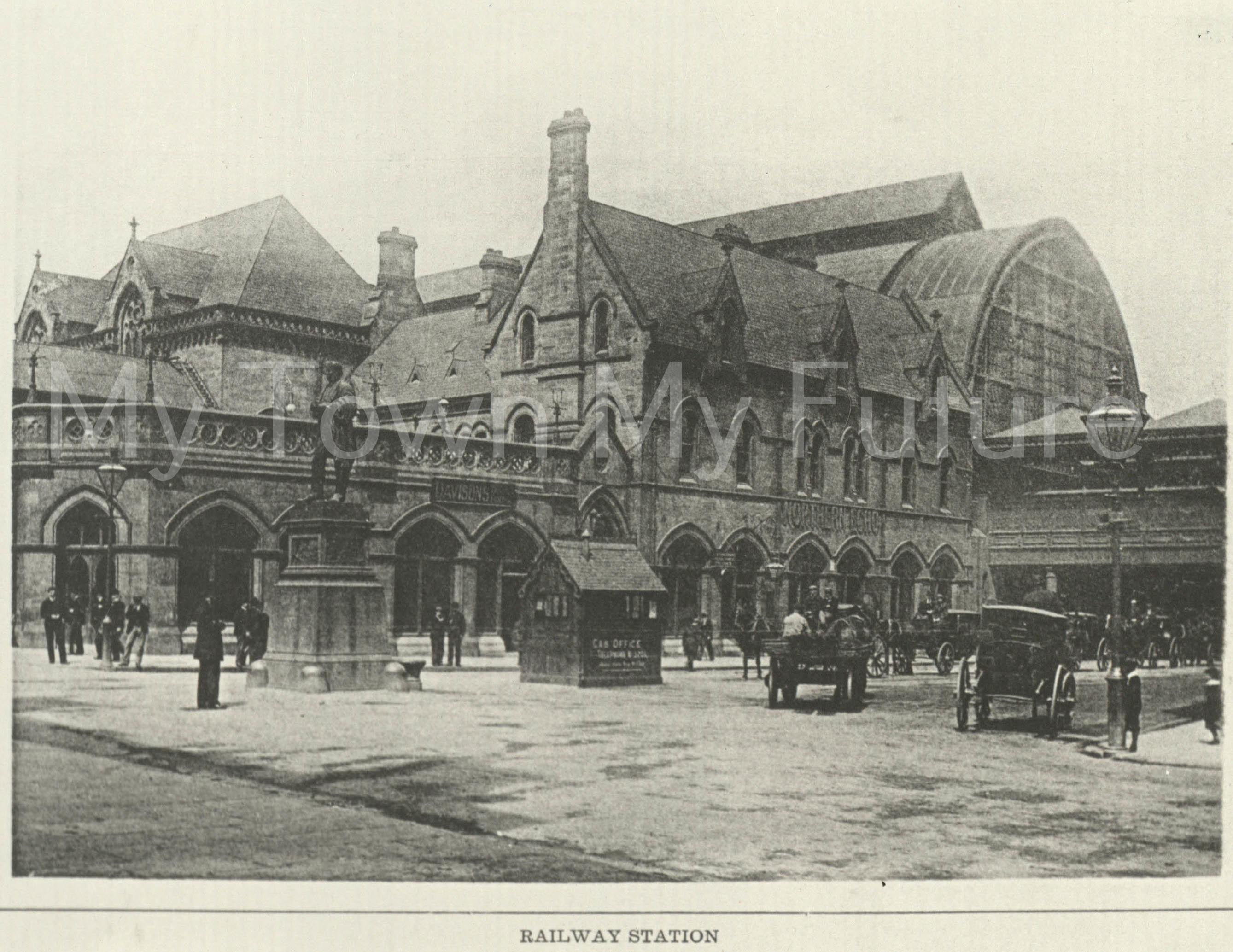 Middlesbrough Railway Station - 1900