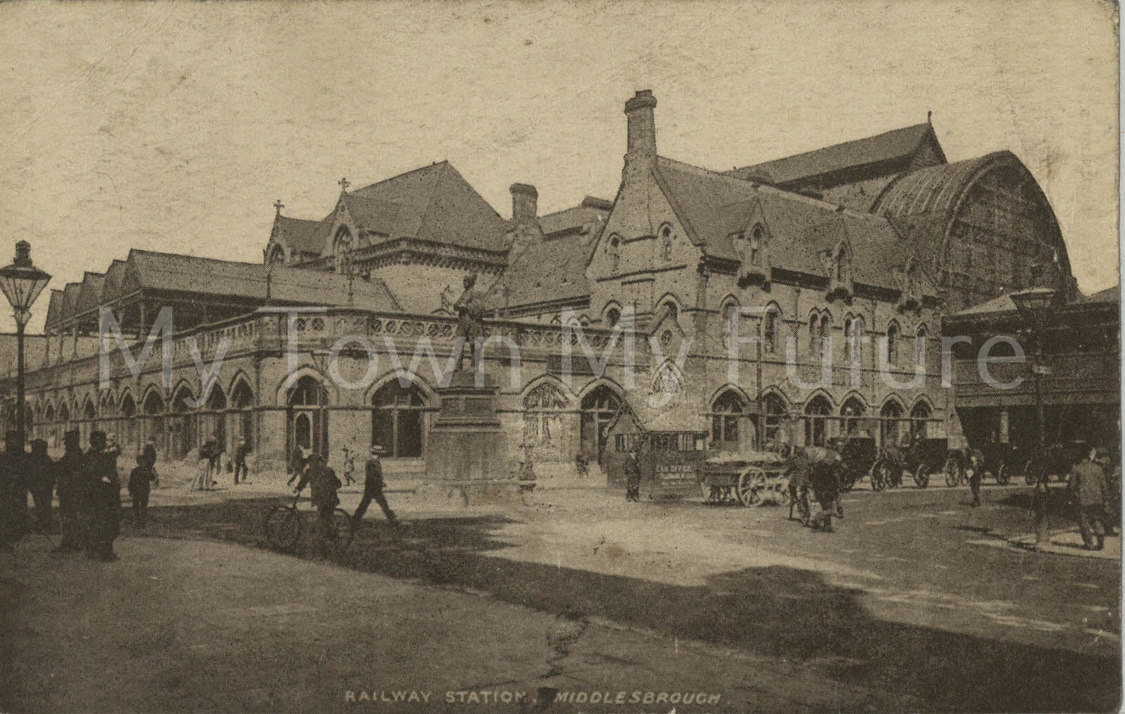 Middlesbrough Railway Station - 1922