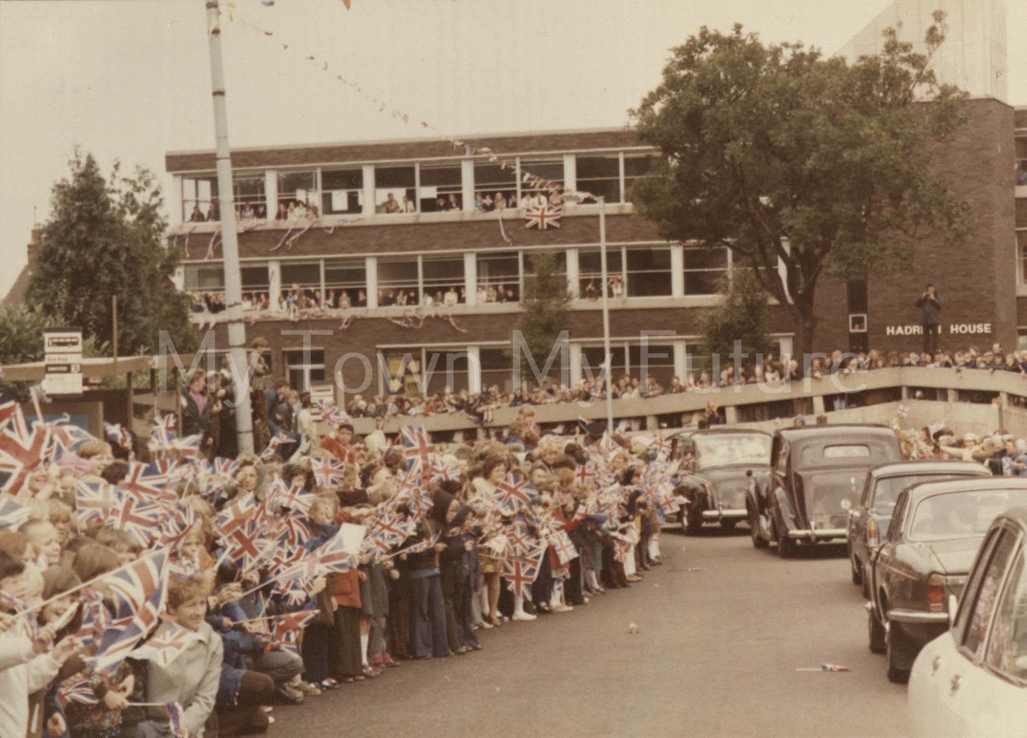 Queen Elizabeth Silver Jubilee visit to Cleveland 1977