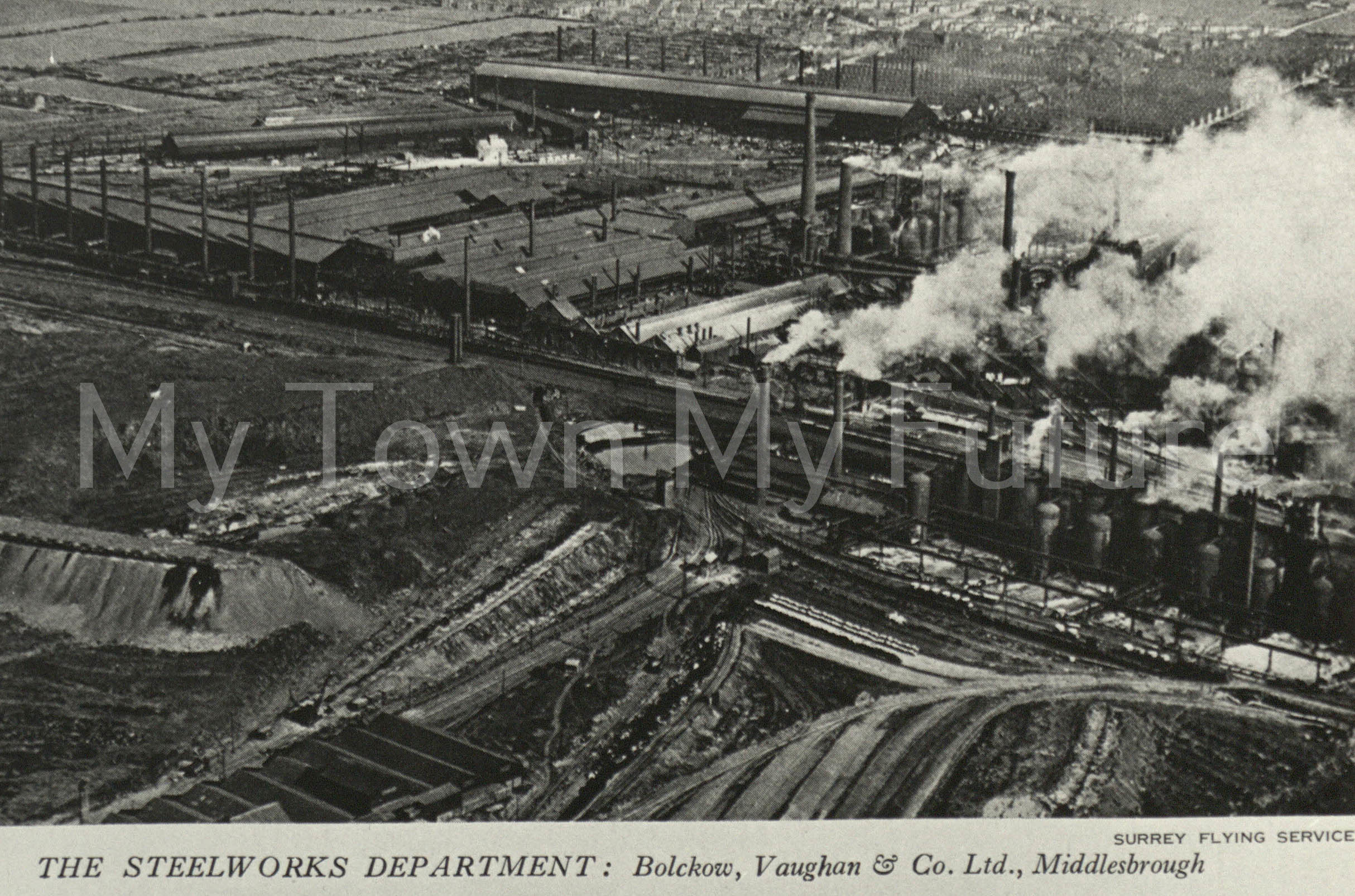 Bolckow & Vaughan Co. The Steelworks Department Middlesbrough 1929