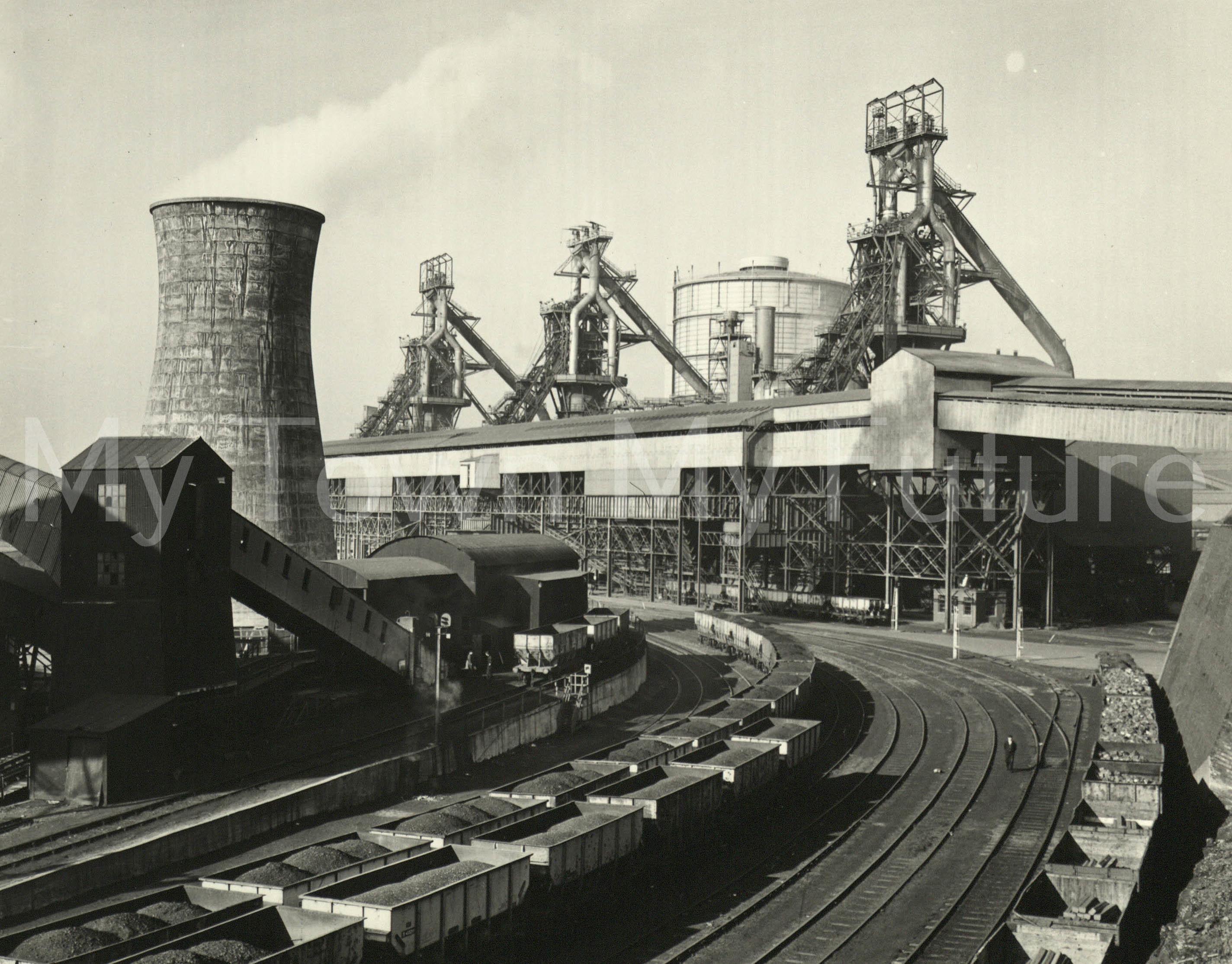 Clay Lane Ironworks 28th February 1964