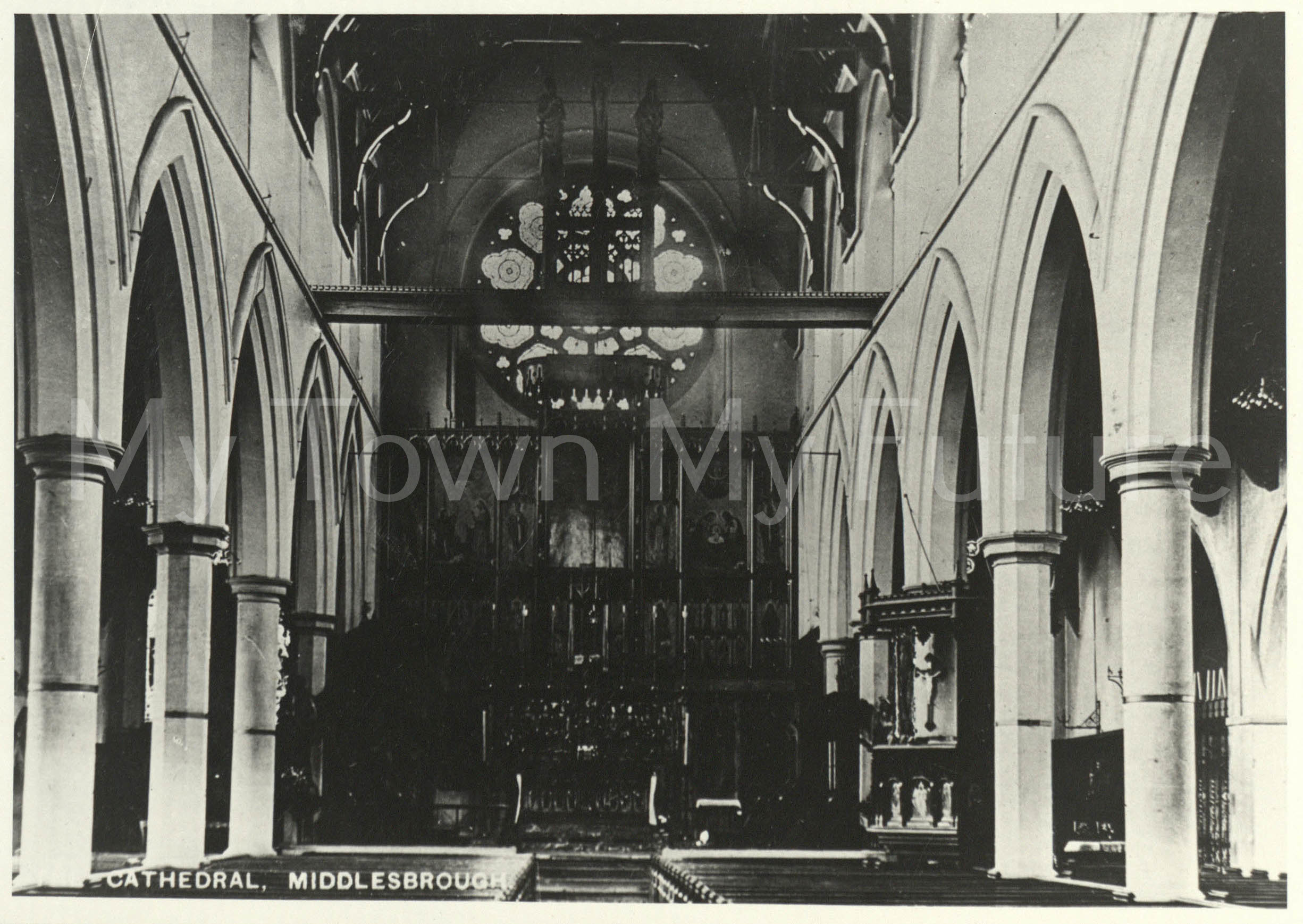 St Mary's RC Cathedral, 1906, Dept. of Planning - Cleveland County Council