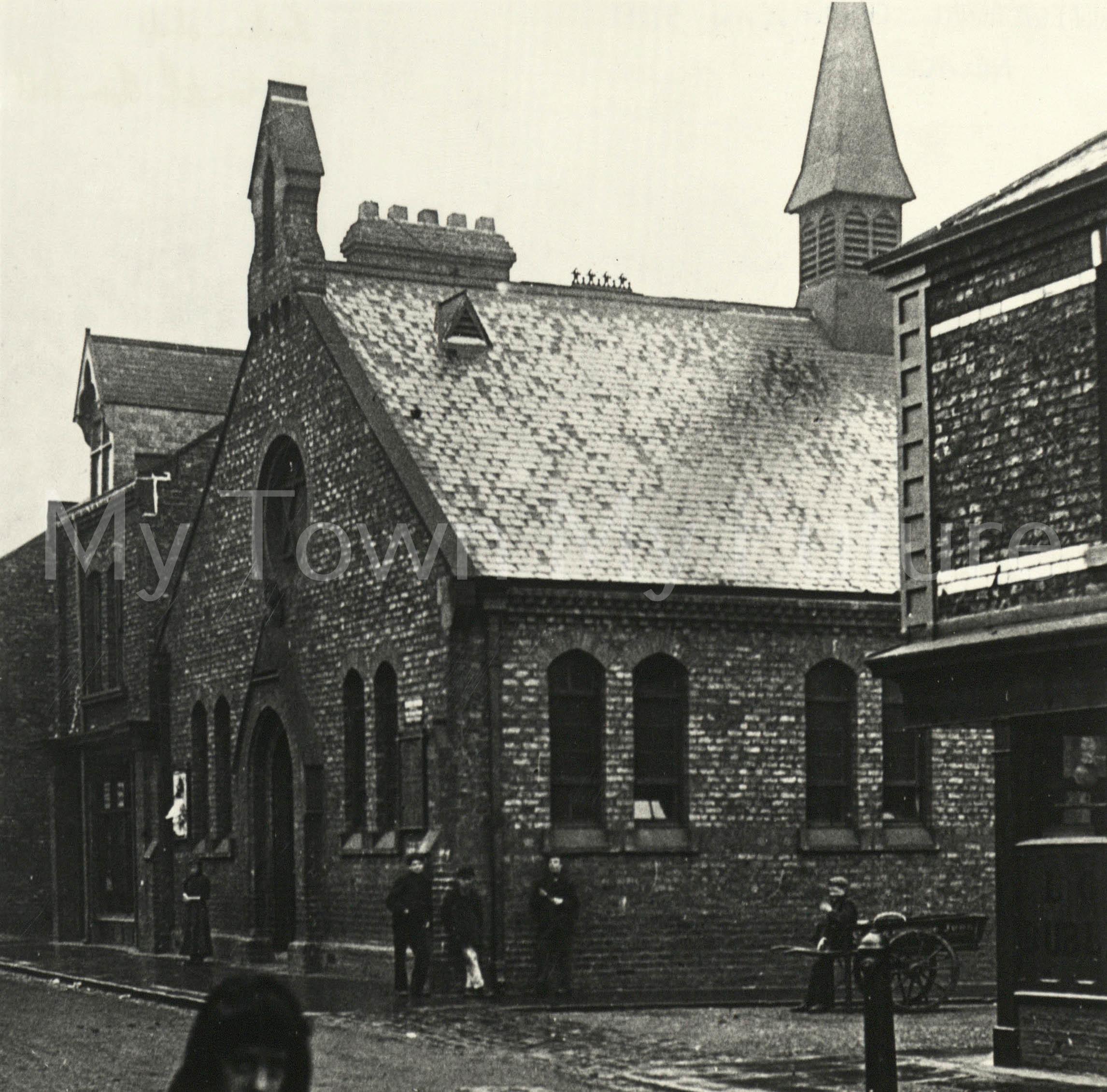 St Oswald's Mission Lower Dean Street Newport