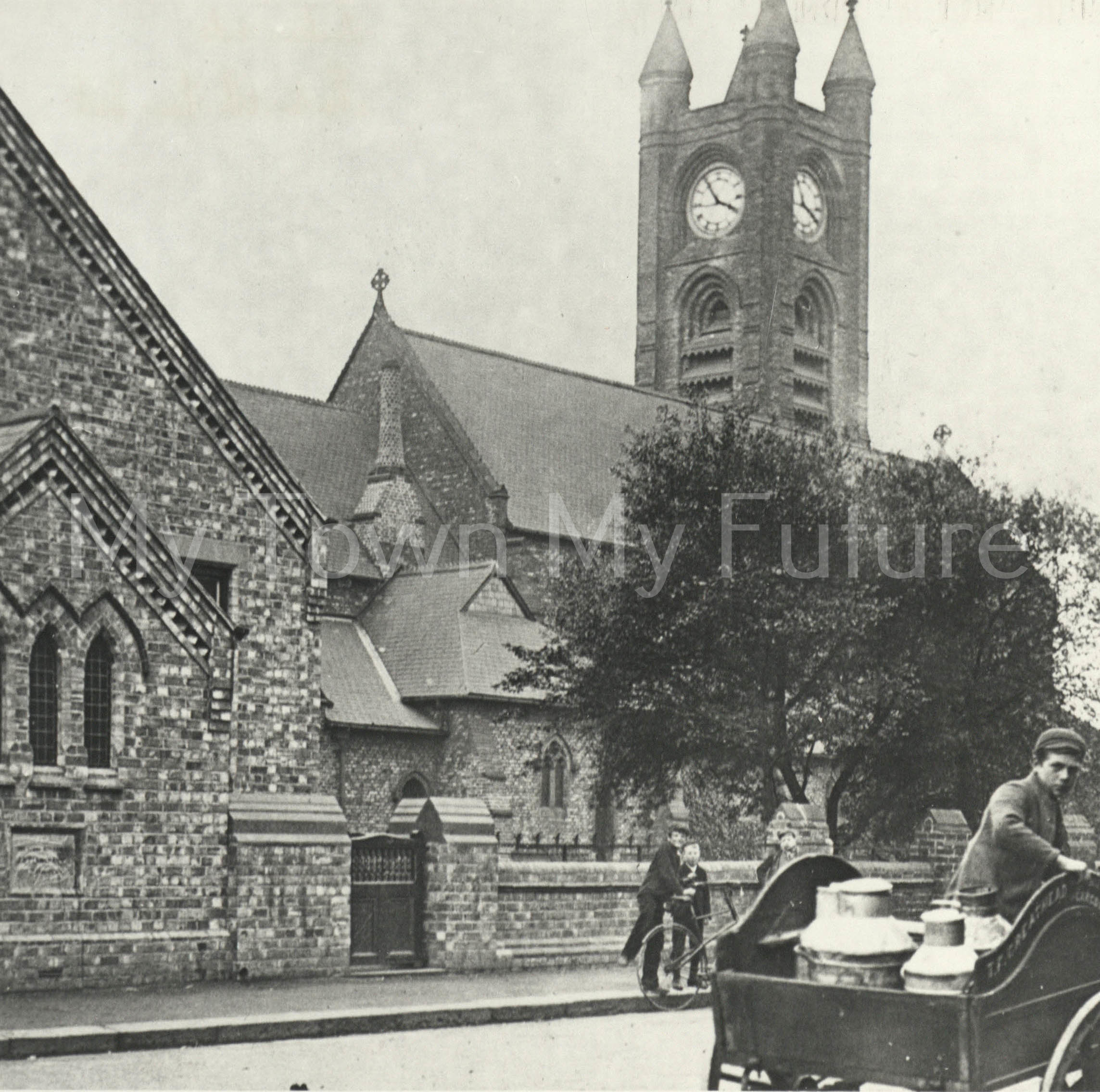 Holy Trinity Church North Ormesby 1900