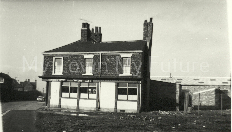 The Cromwell Hotel Corner of Dock Street & Lower Feversham Street 1960
