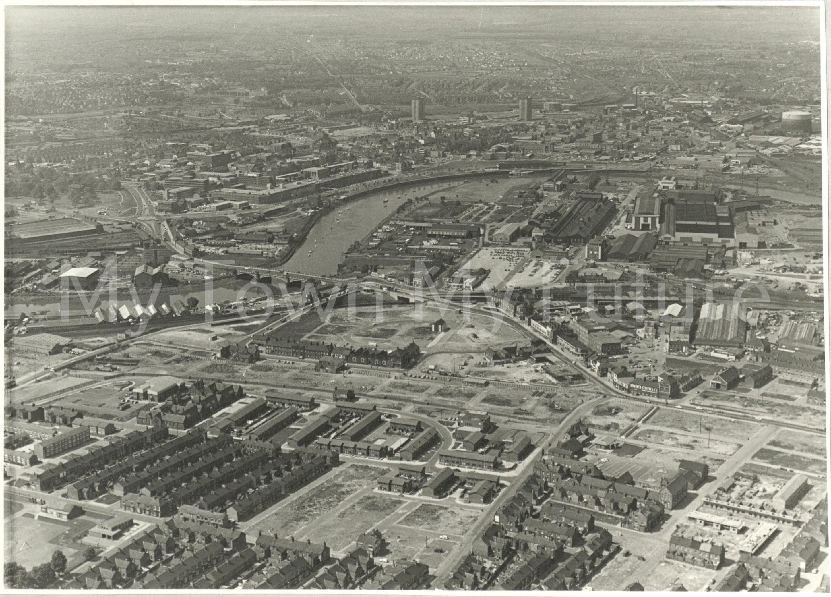 River Tees At Stockton & Thornaby 1979