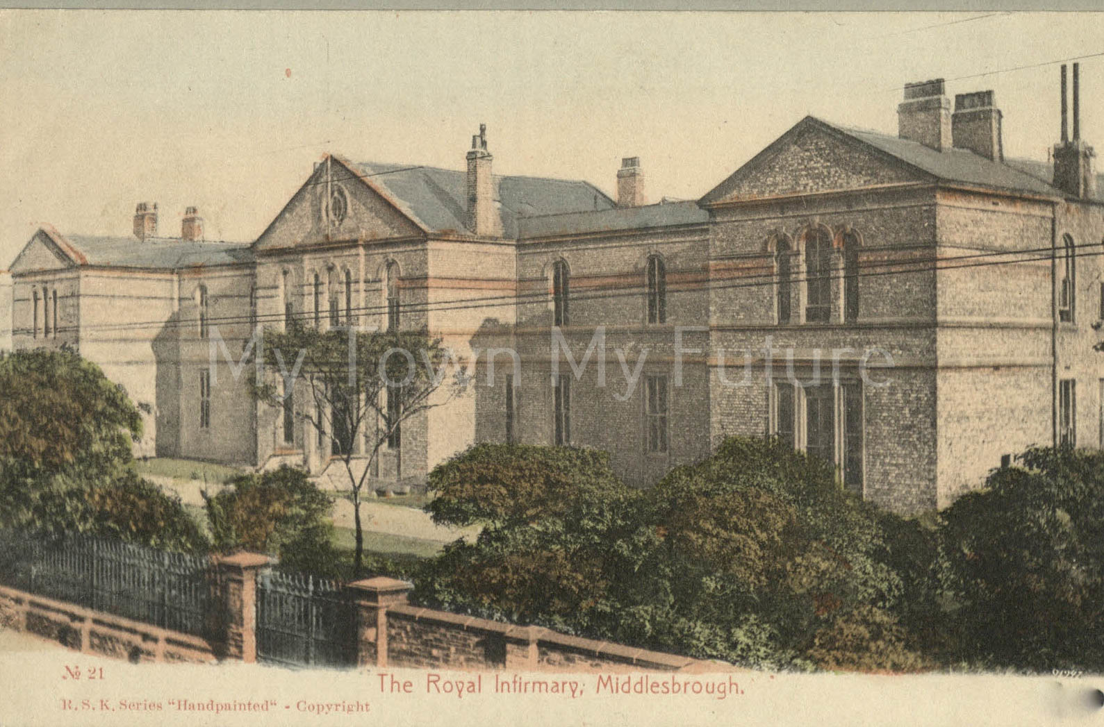 Middlesbrough North Riding Infirmary, RSK Series