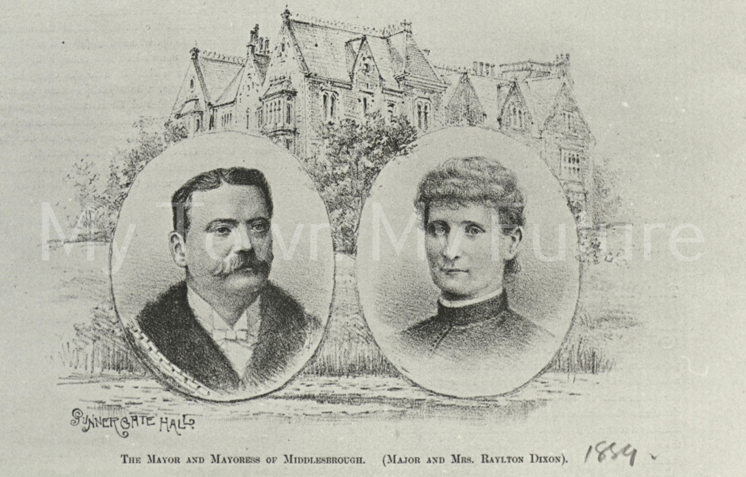 Sir Raylton Dixon and Mrs Dixon (1889)