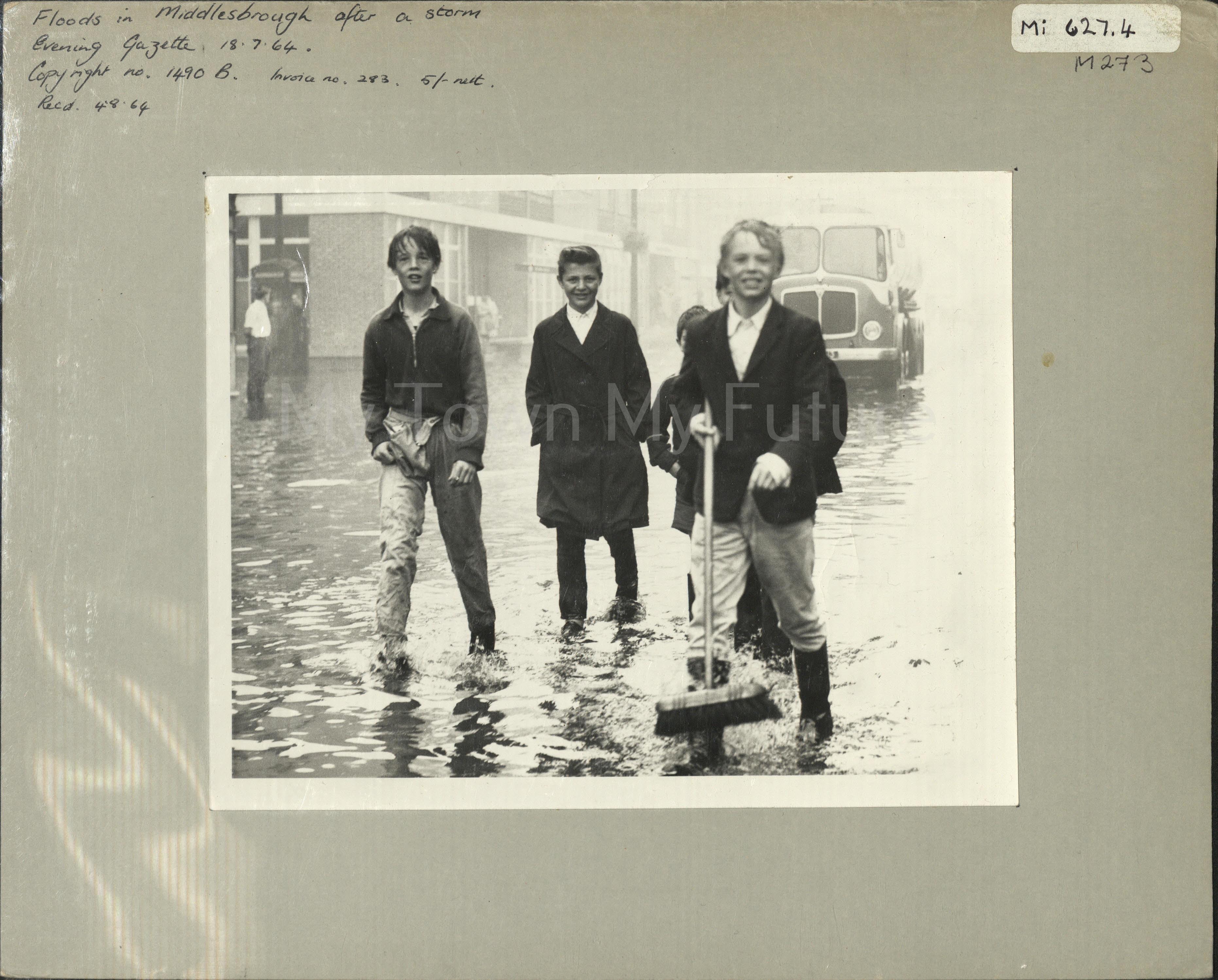 Middlesbrough flood, 1964