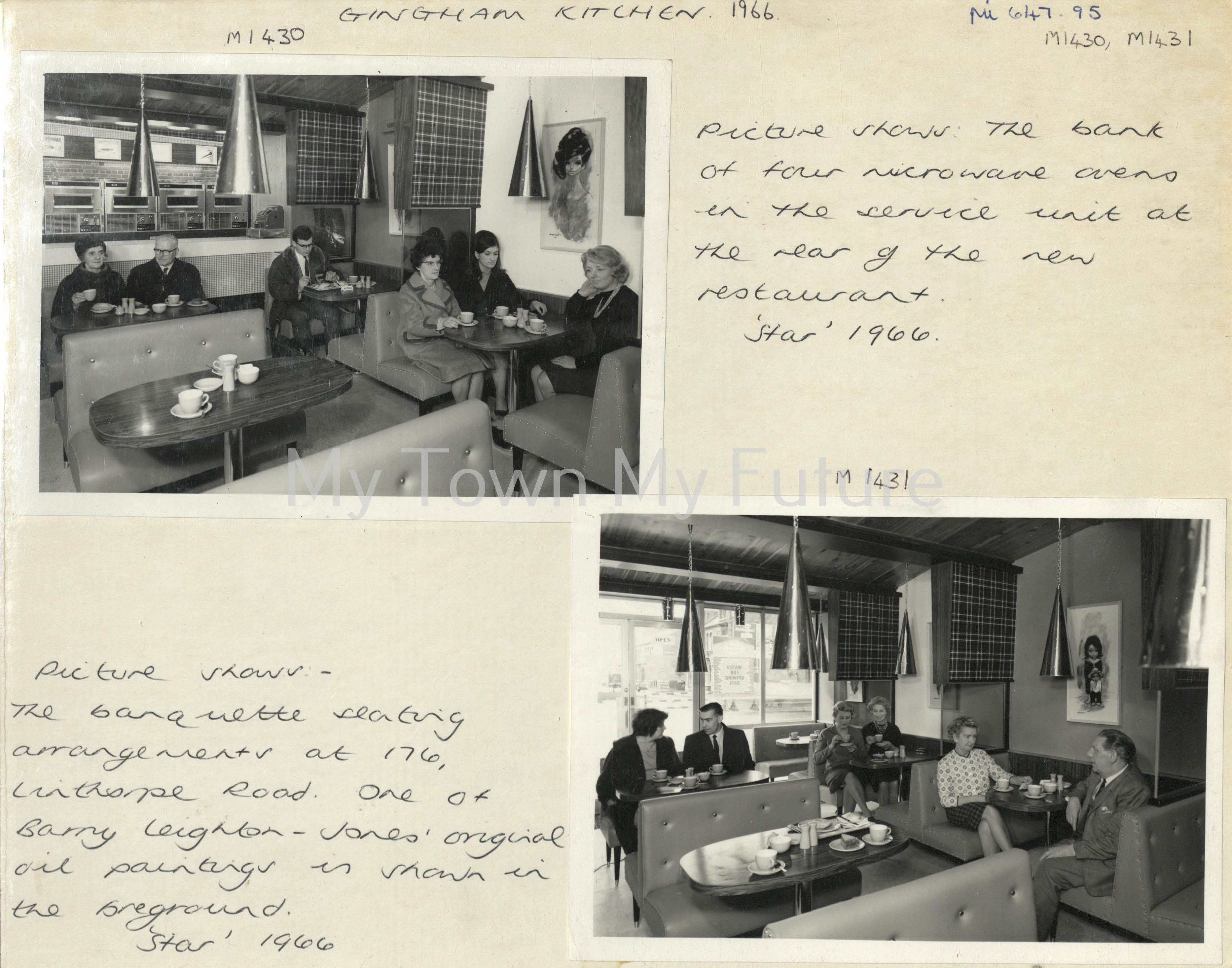 Middlesbrough Gingham Kitchen, 1966