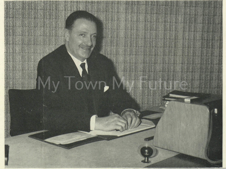 Dr Jenkins Evans Teesside Industrial Eisteddford 1966
