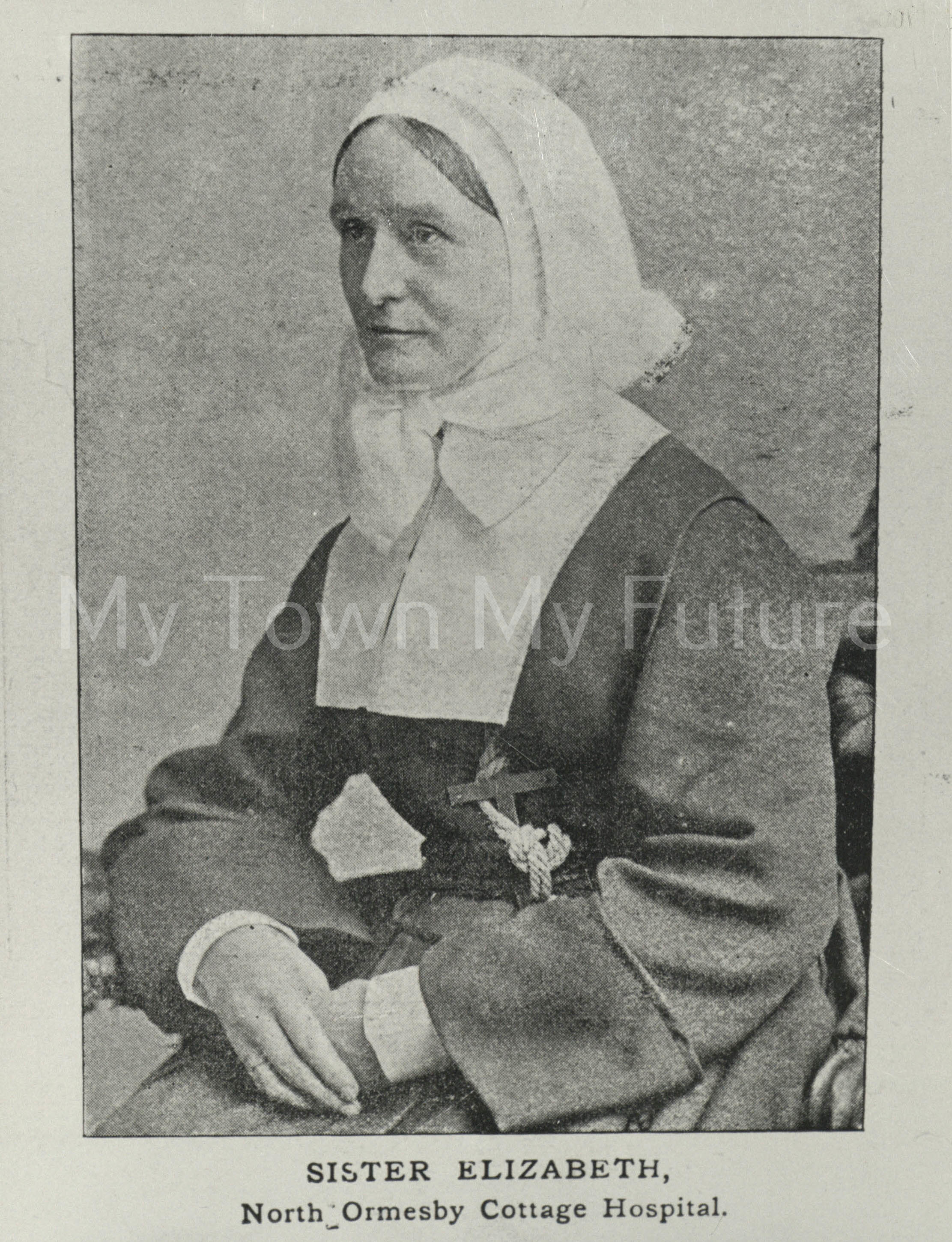 Sister Elizabeth North Ormesby Cottage Hospital 1895