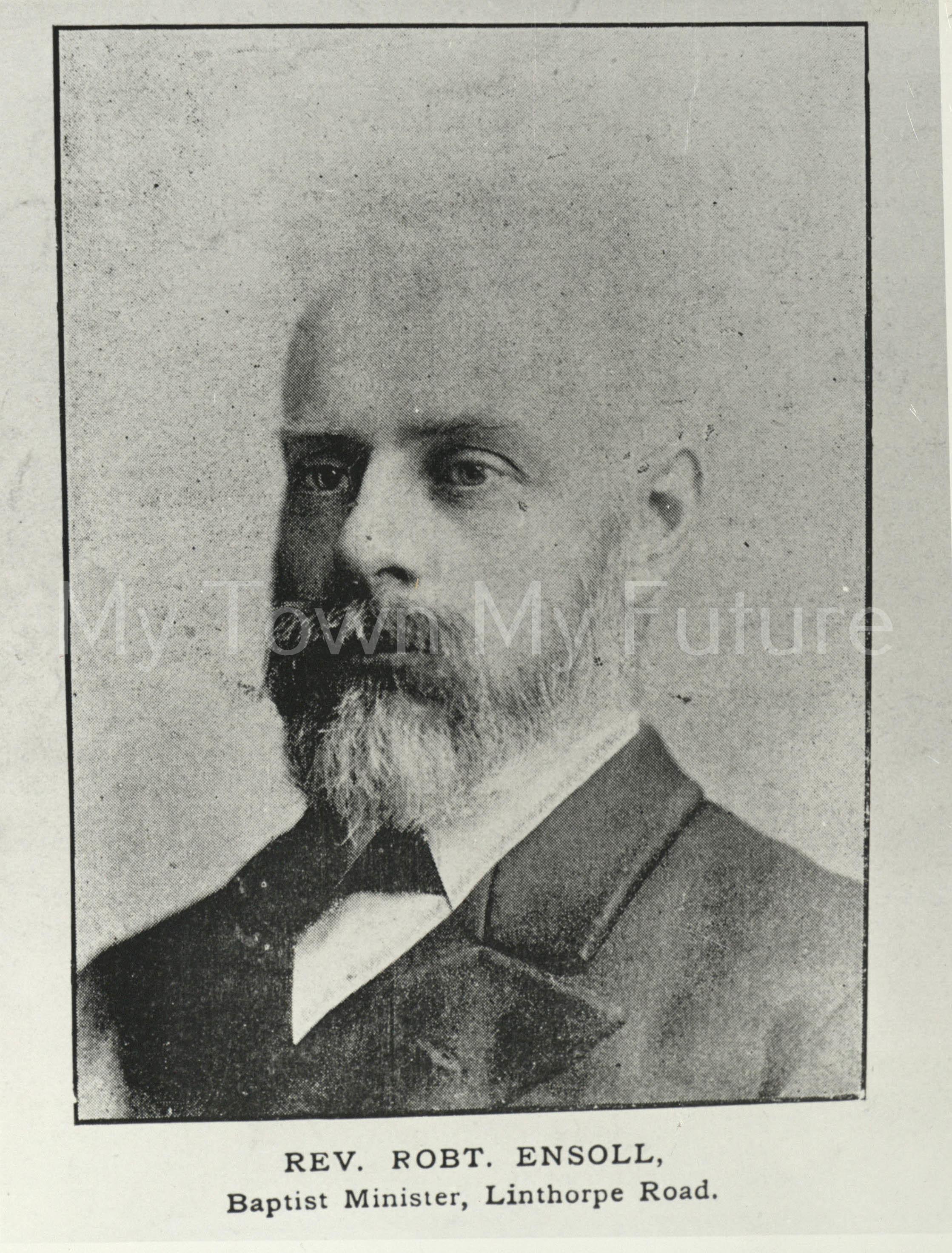 Rev Robert Ensoll Baptist Minister Linthorpe Road 1900
