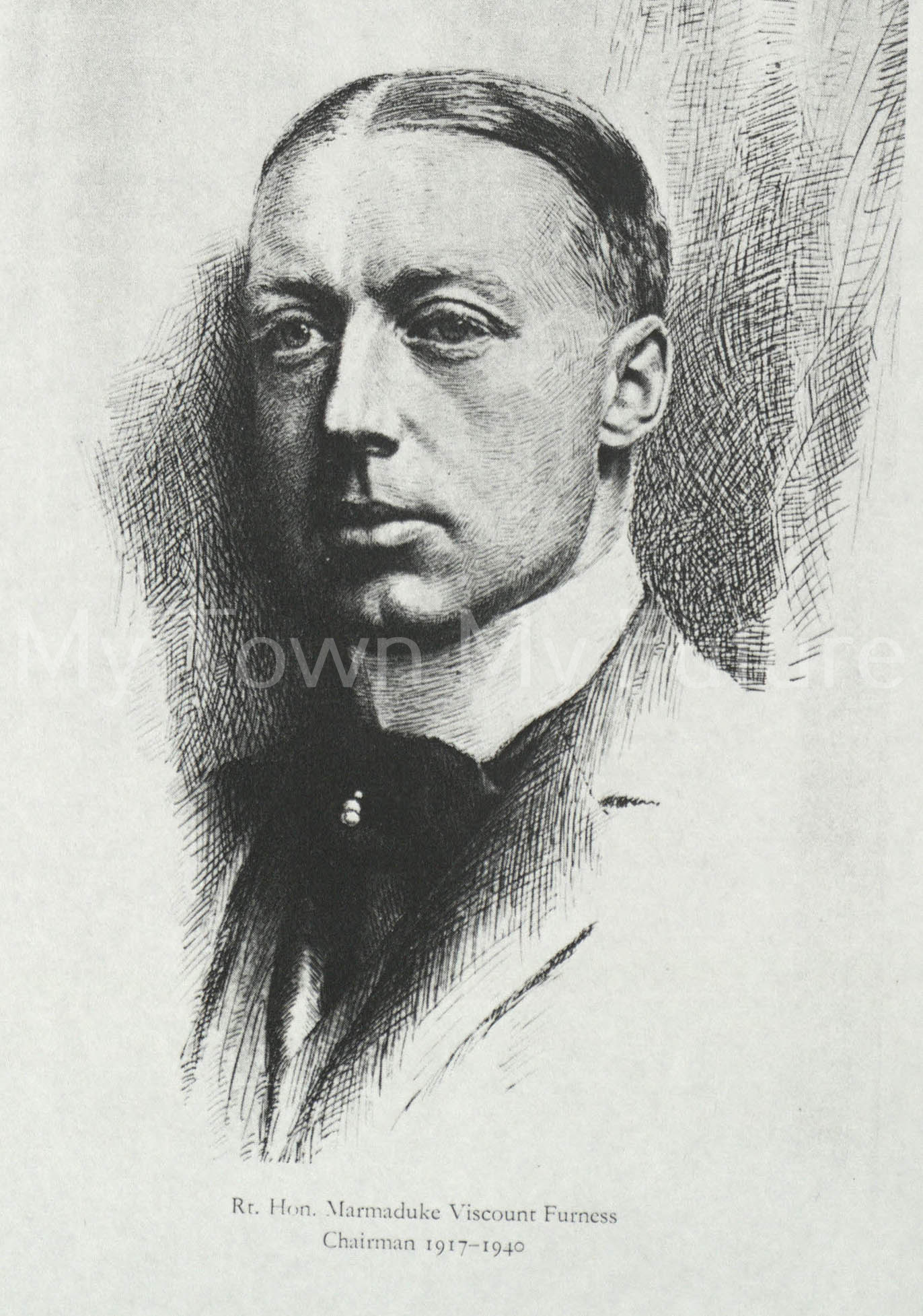Rt Hon Marmaduke Viscount Furness