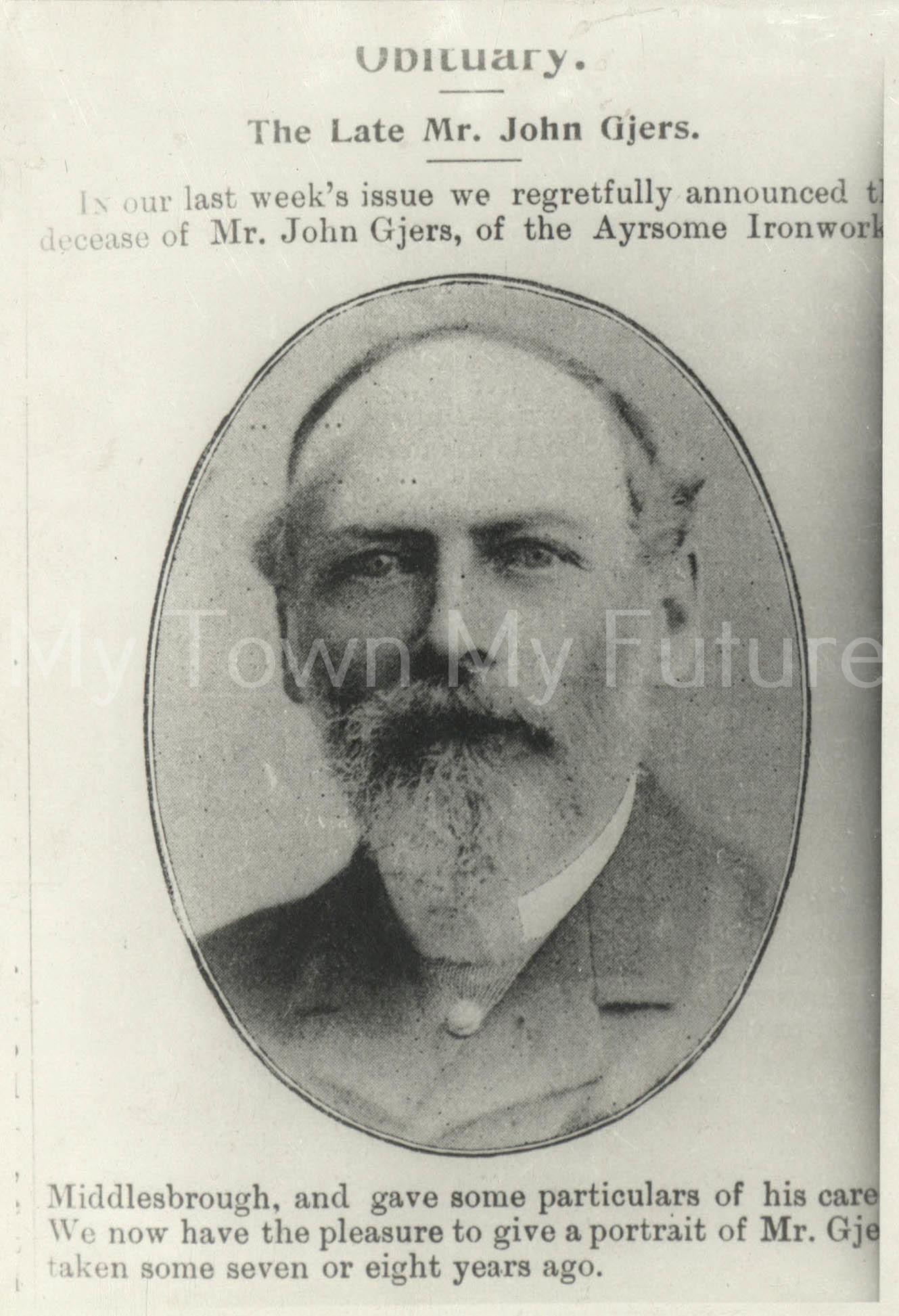 Mr John Gjers