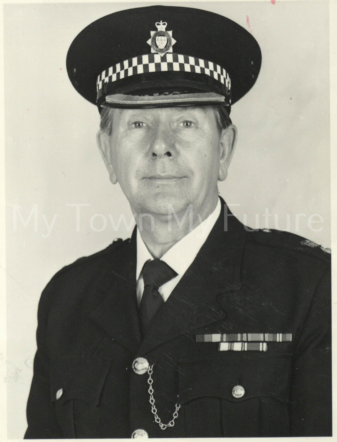 Police Chief Reg Spriggs