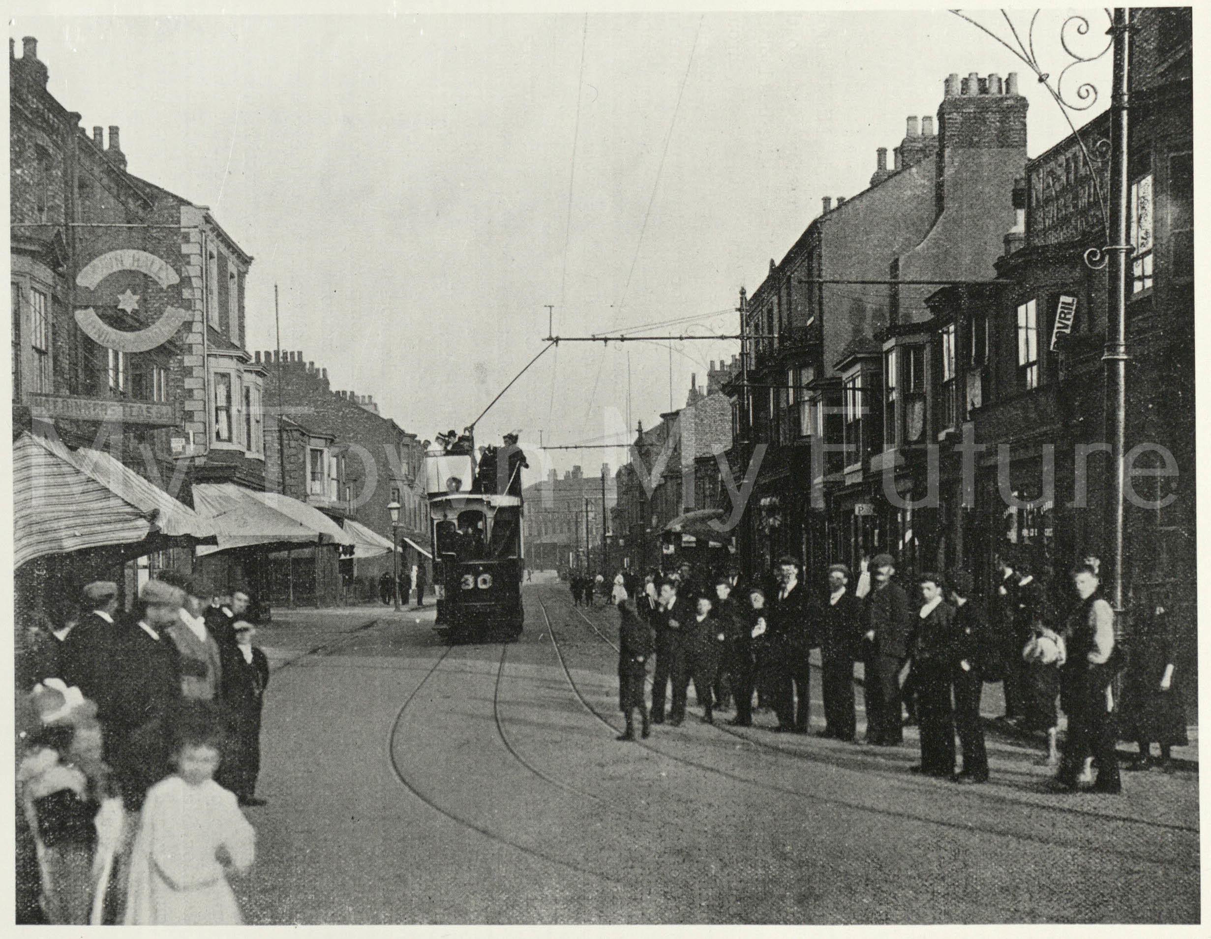 Trams,Mandale Road