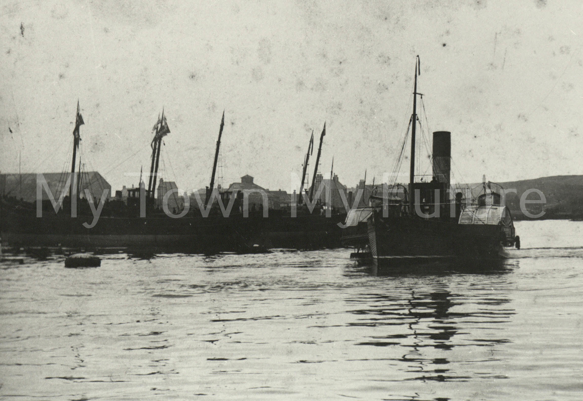 Paddle Steamer,Sir George Elliot