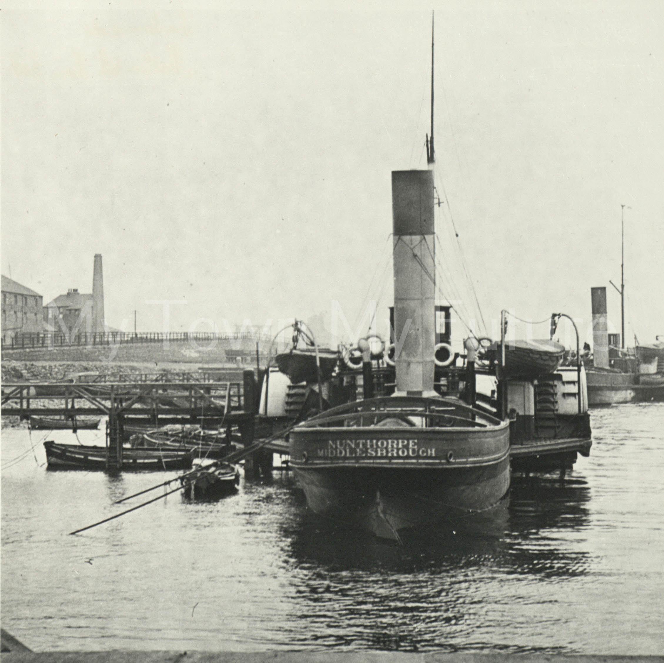 Paddle Tug,Nunthorpe