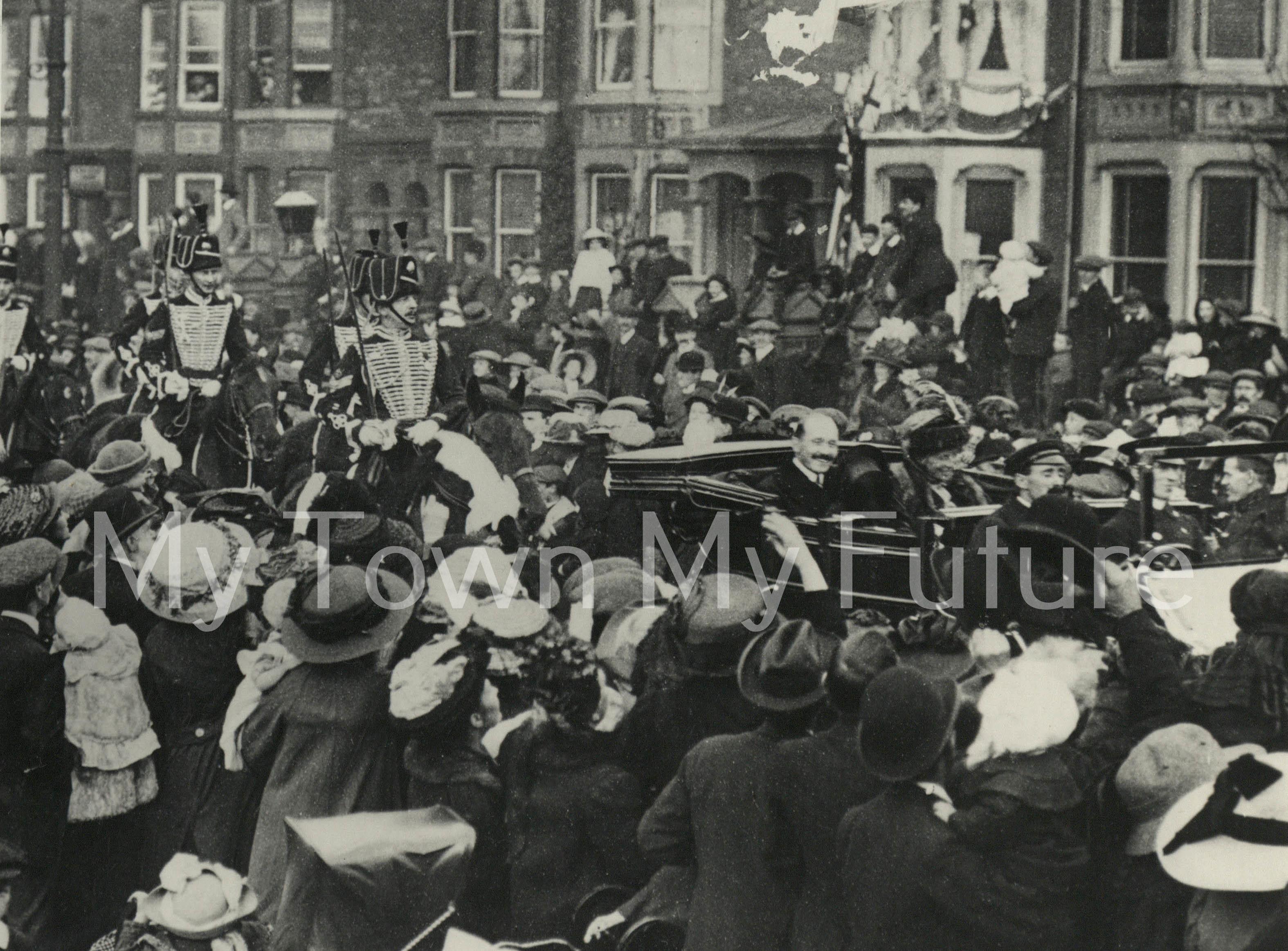 Transporter Bridge Opening 17 October 1911