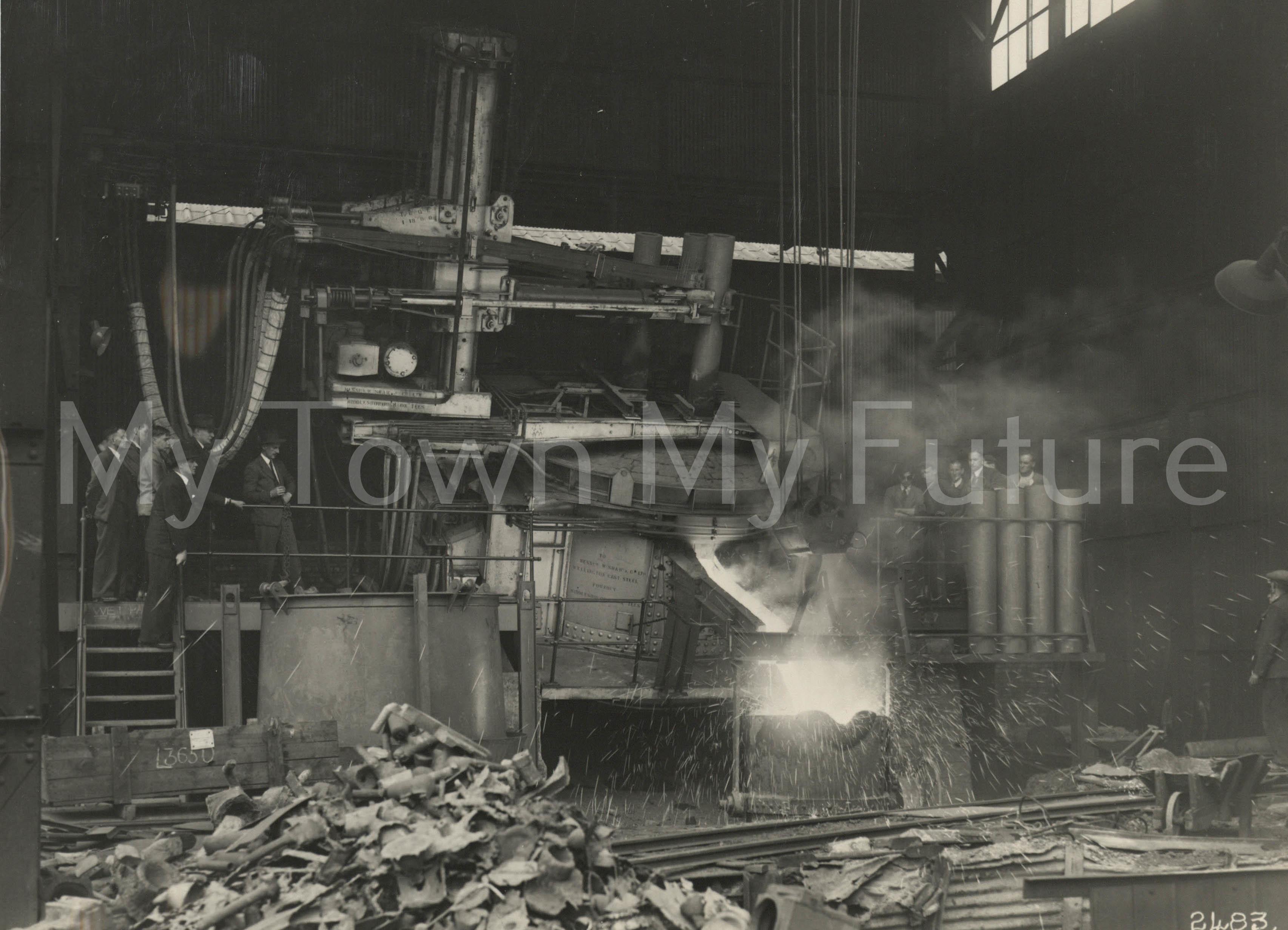 Electric Arc Furness William Shaw & Co 1950